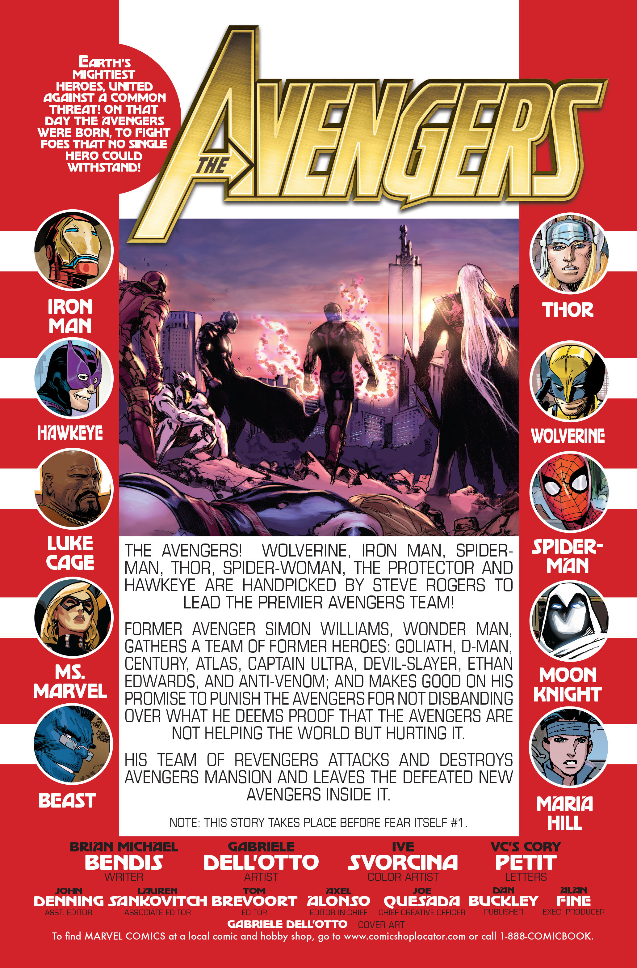 Read online Avengers (2010) comic -  Issue #Avengers (2010) Annual 1 - 2