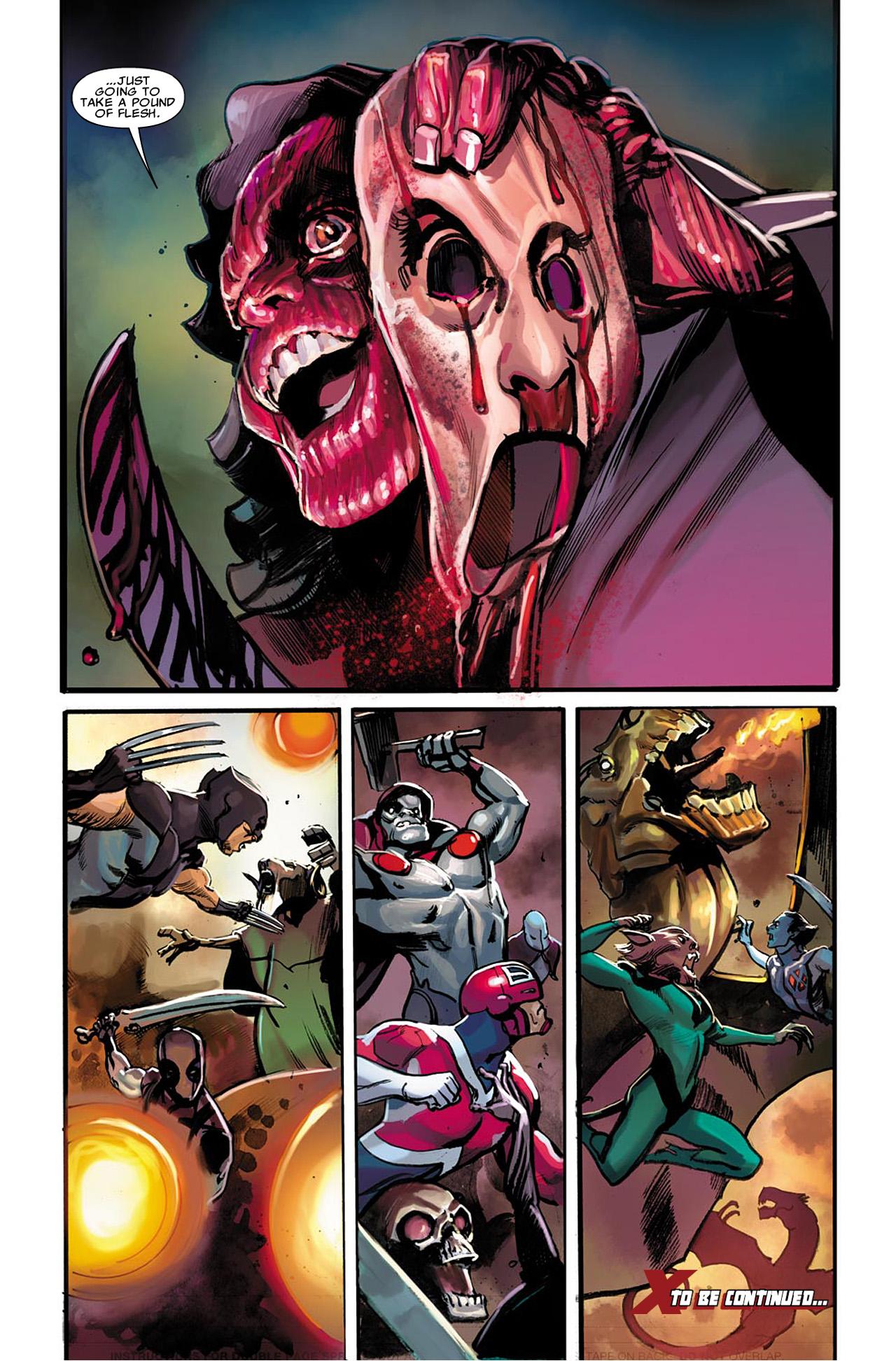 Uncanny X-Force (2010) #22 #24 - English 21