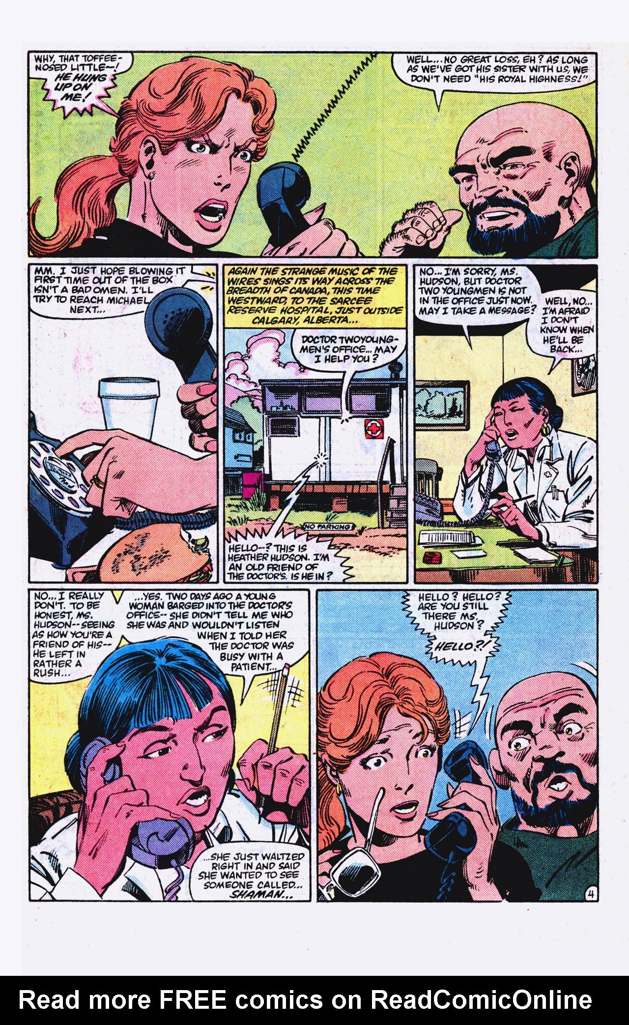 Read online Alpha Flight (1983) comic -  Issue #18 - 5