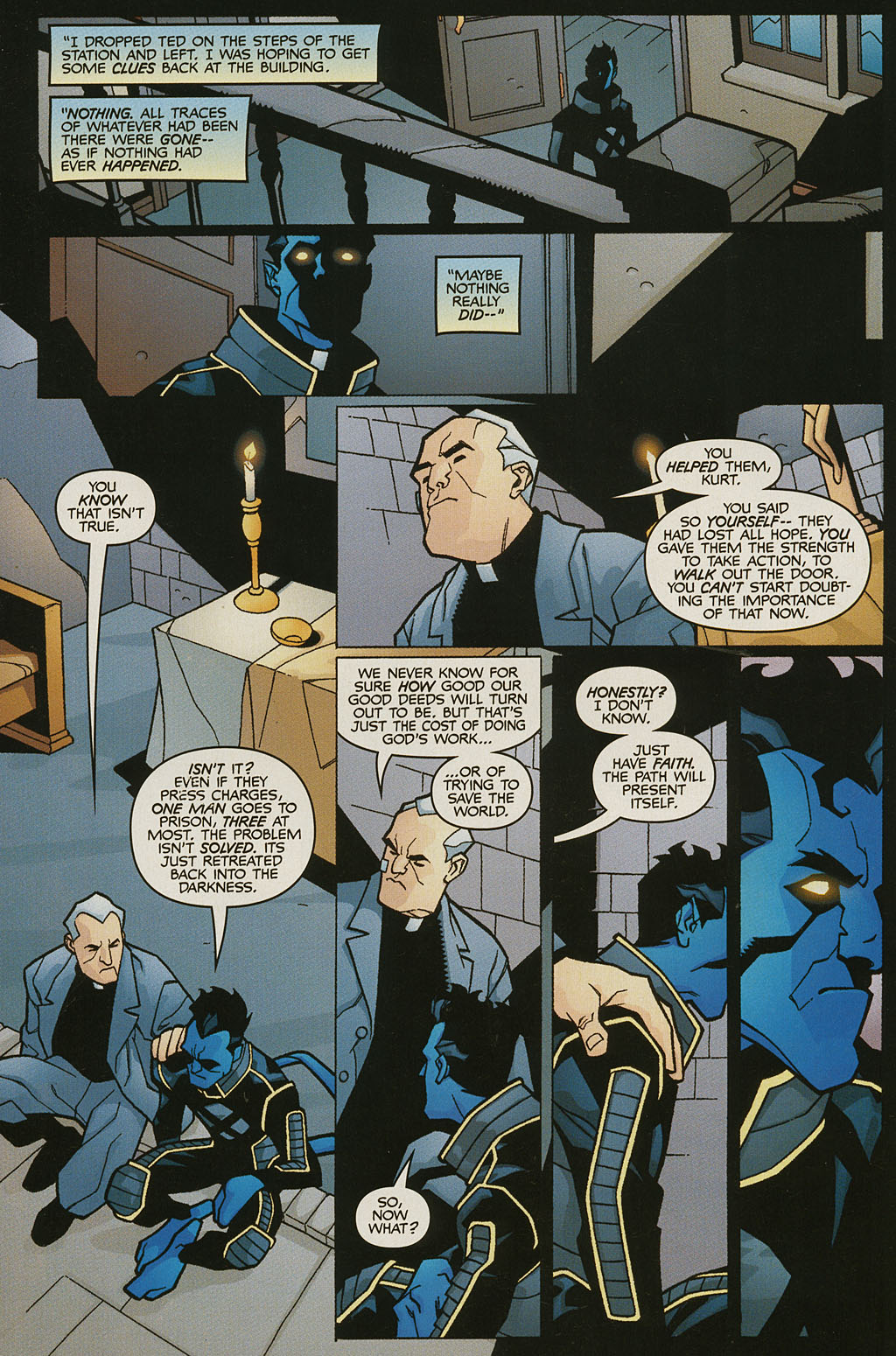 Read online Nightcrawler (2002) comic -  Issue #2 - 22