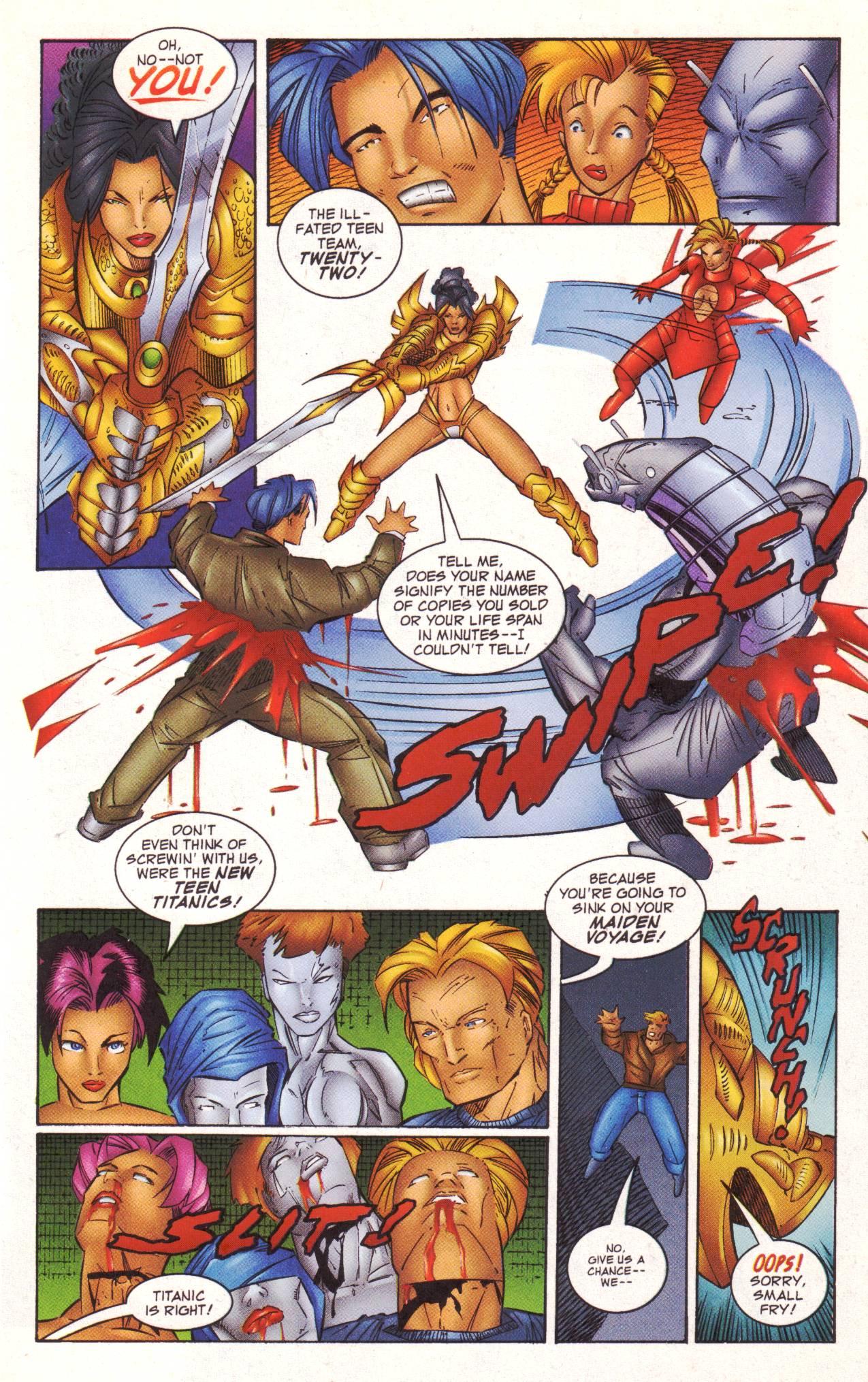 Read online Avengeblade comic -  Issue #2 - 19