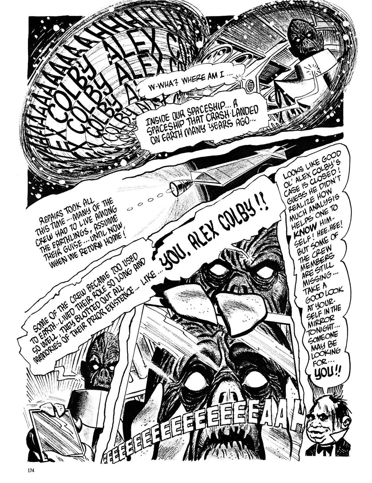 Read online Eerie Archives comic -  Issue # TPB 3 - 175
