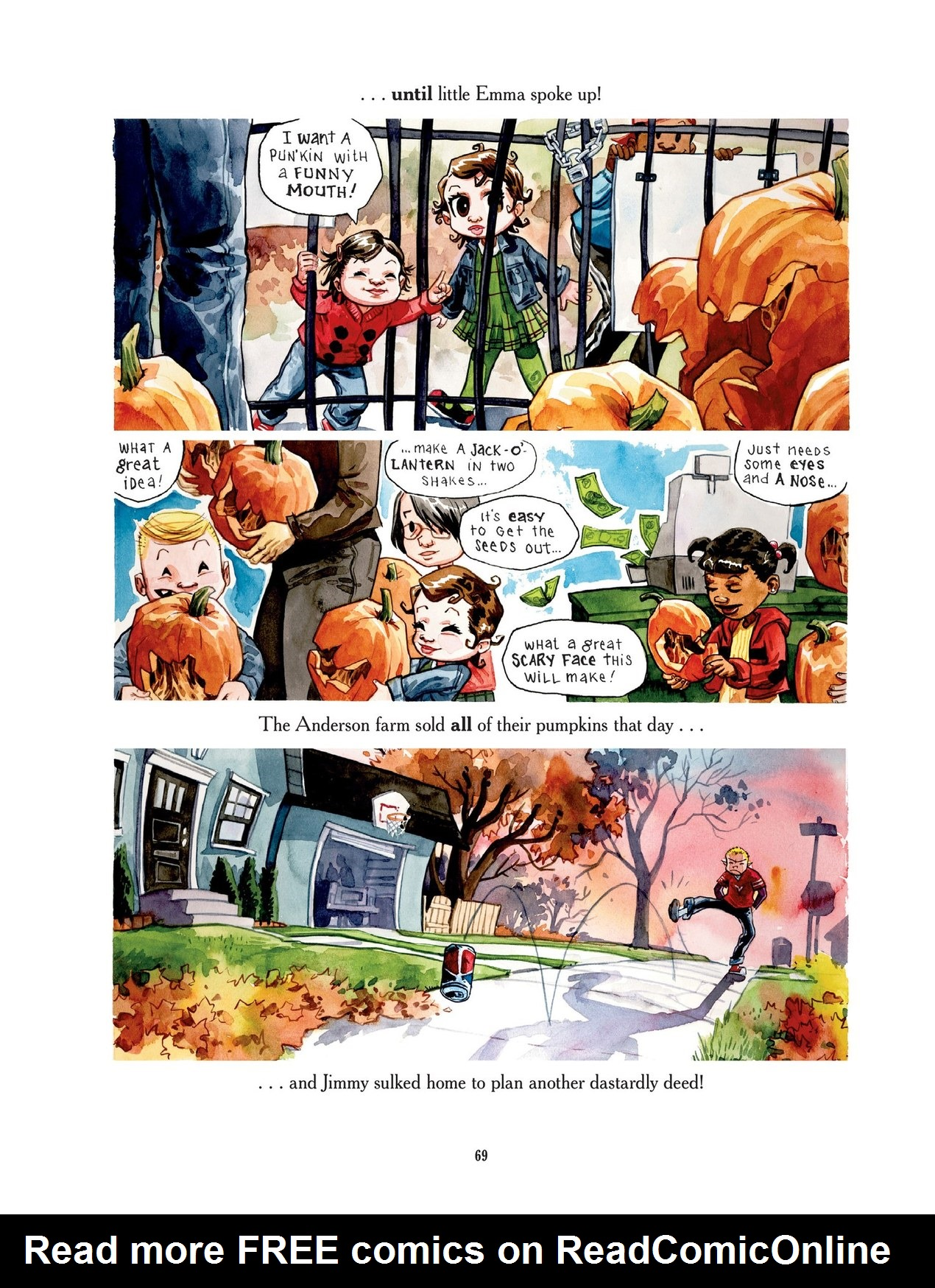 Read online Scary Godmother comic -  Issue # TPB - 69