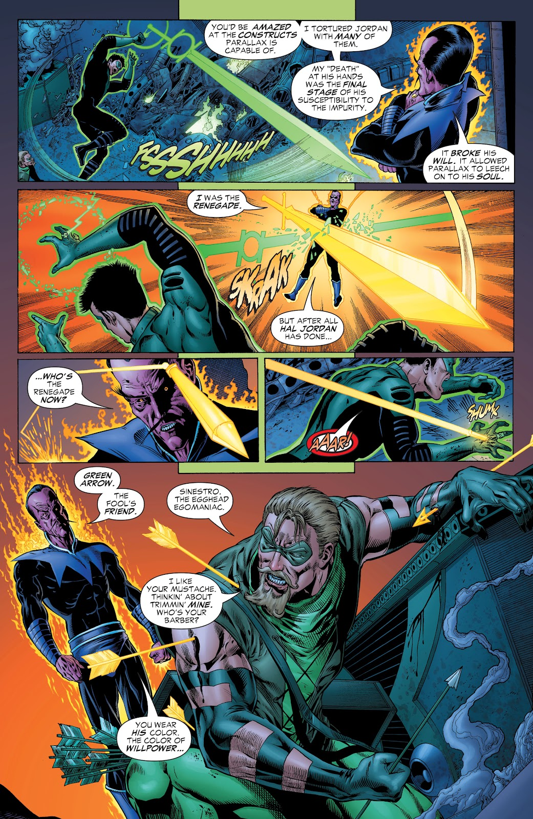 Read online Green Lantern by Geoff Johns comic -  Issue # TPB 1 (Part 1) - 93