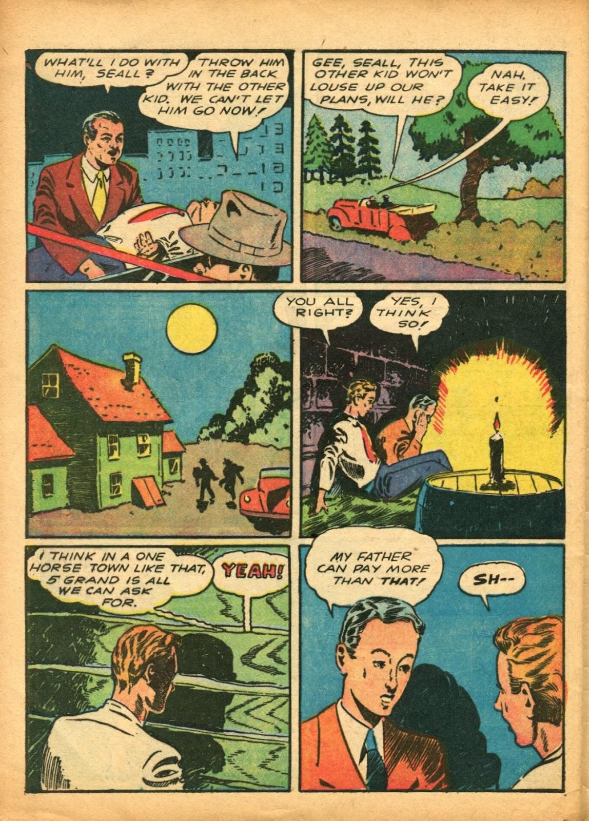 Read online Super-Magician Comics comic -  Issue #5 - 53