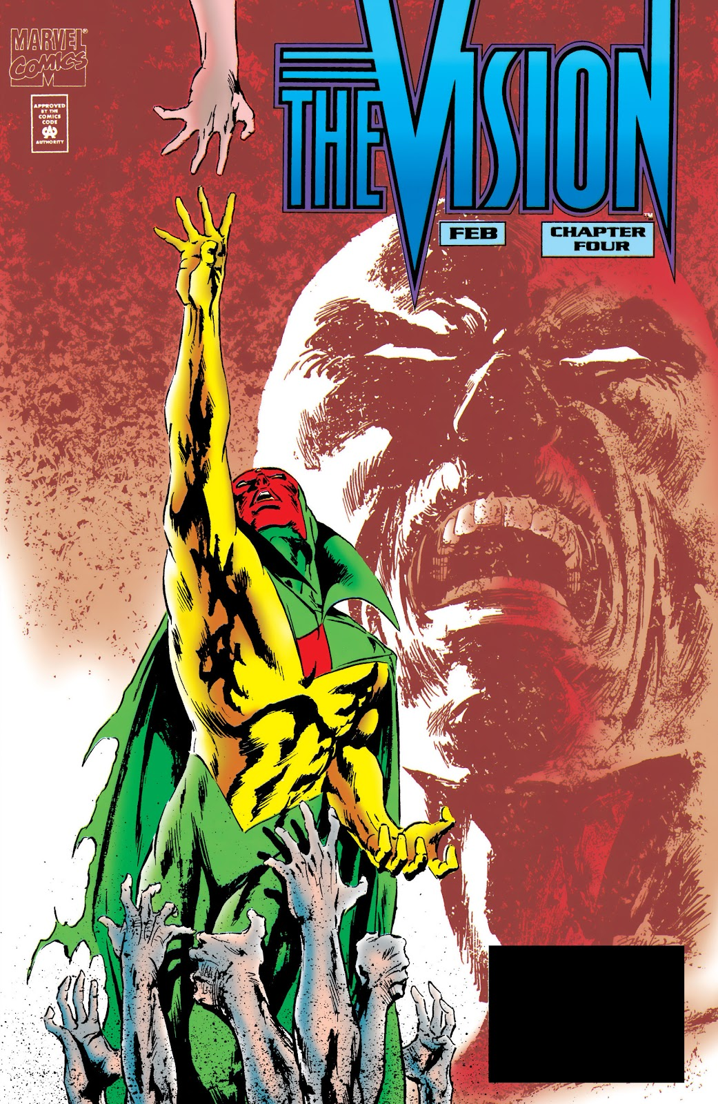 Read online The Vision comic -  Issue #4 - 1