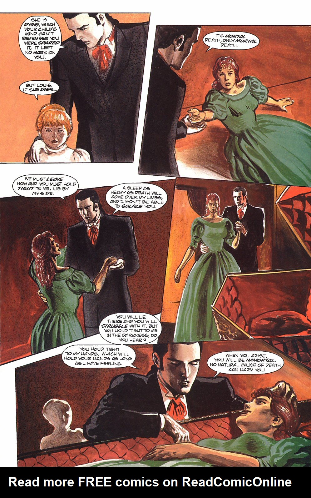 Read online Anne Rice's Interview with the Vampire comic -  Issue #9 - 31