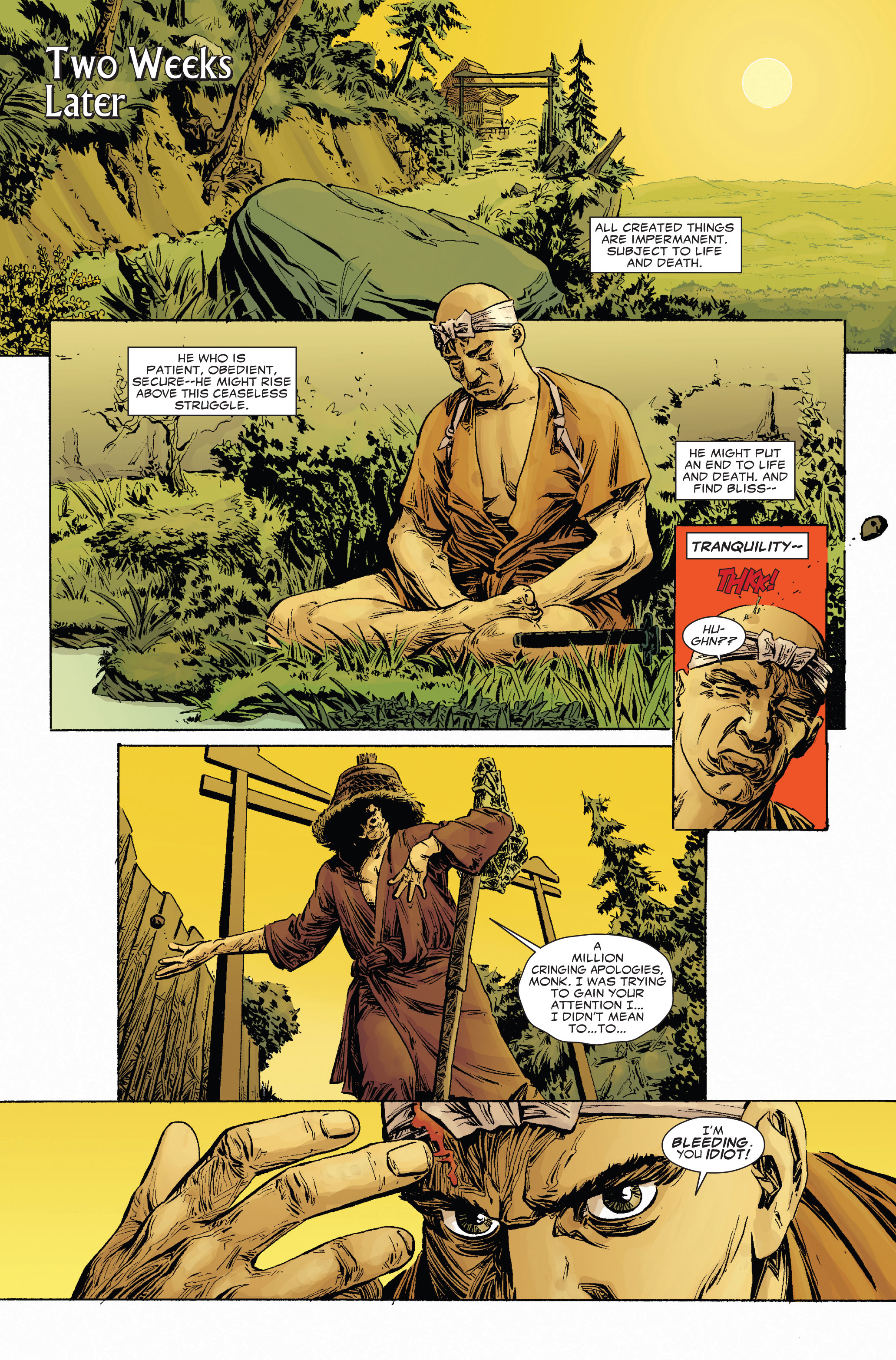 Read online 5 Ronin (2011) comic -  Issue #2 - 7