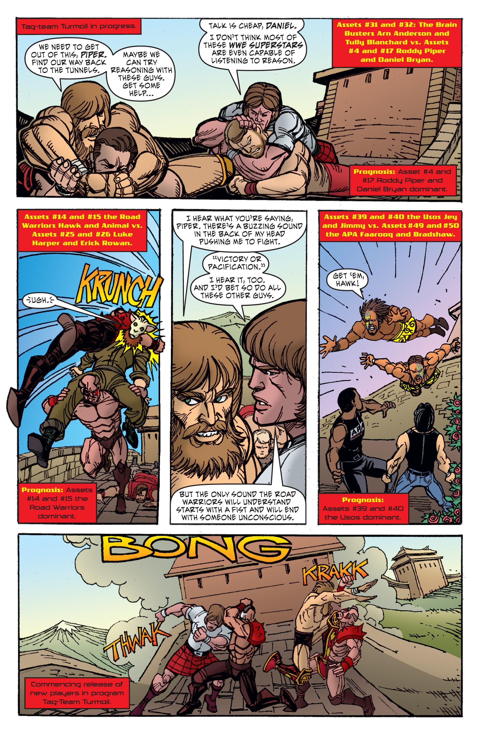 Read online WWE Superstars comic -  Issue #11 - 9