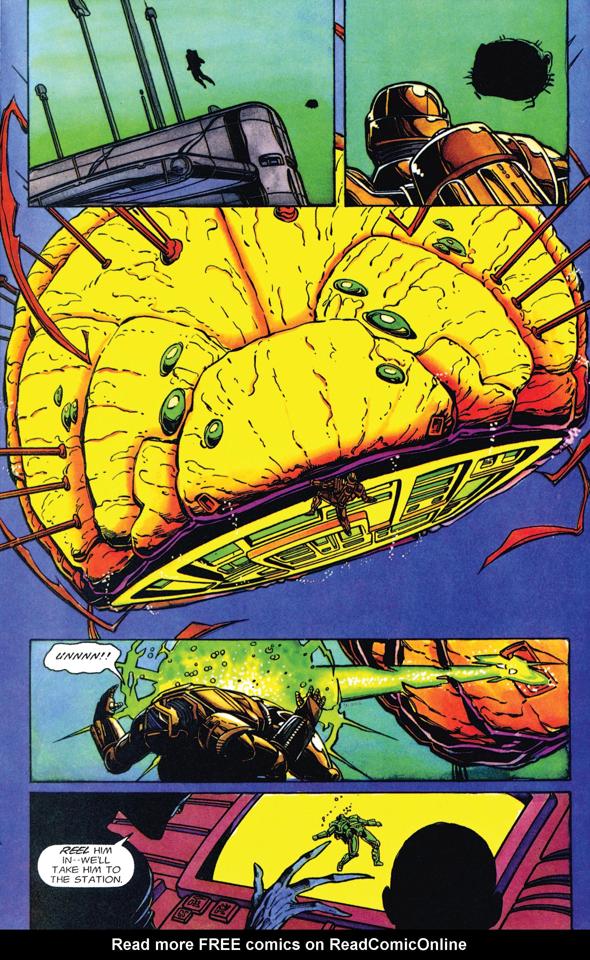 Read online Armorines comic -  Issue #2 - 13