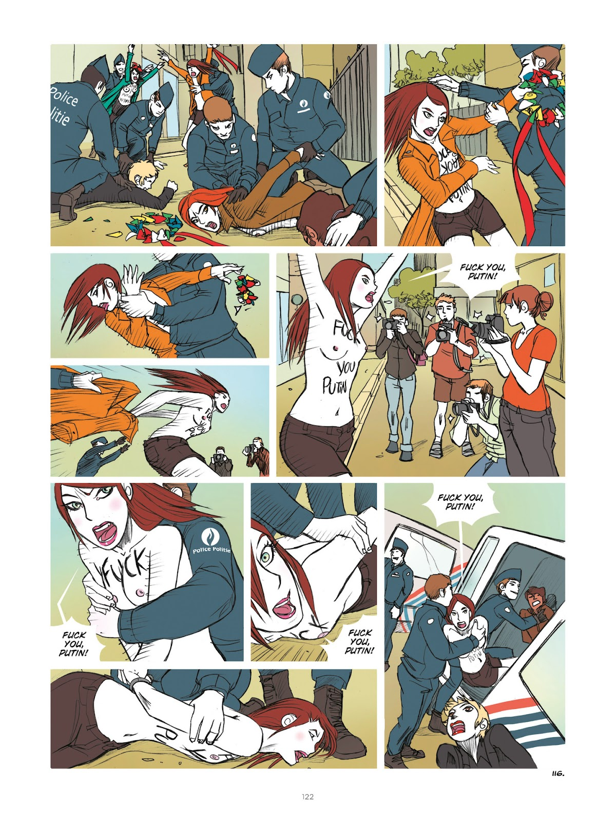 Read online Diary of A Femen comic -  Issue # TPB - 124