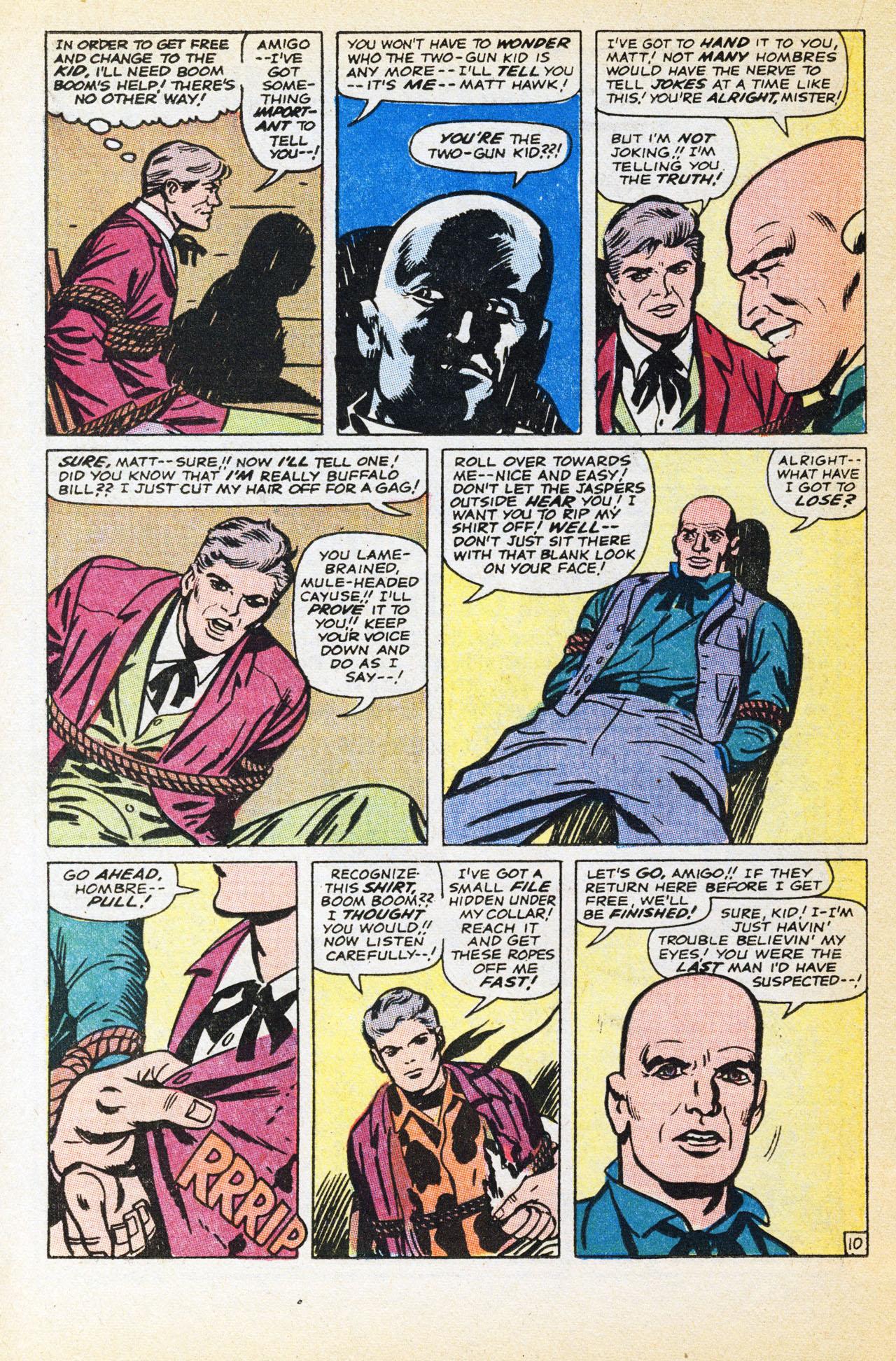 Read online Two-Gun Kid comic -  Issue #94 - 16