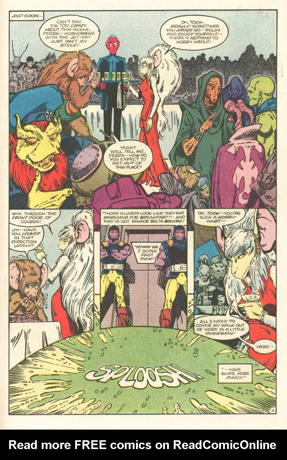 Read online Atari Force (1984) comic -  Issue #15 - 25