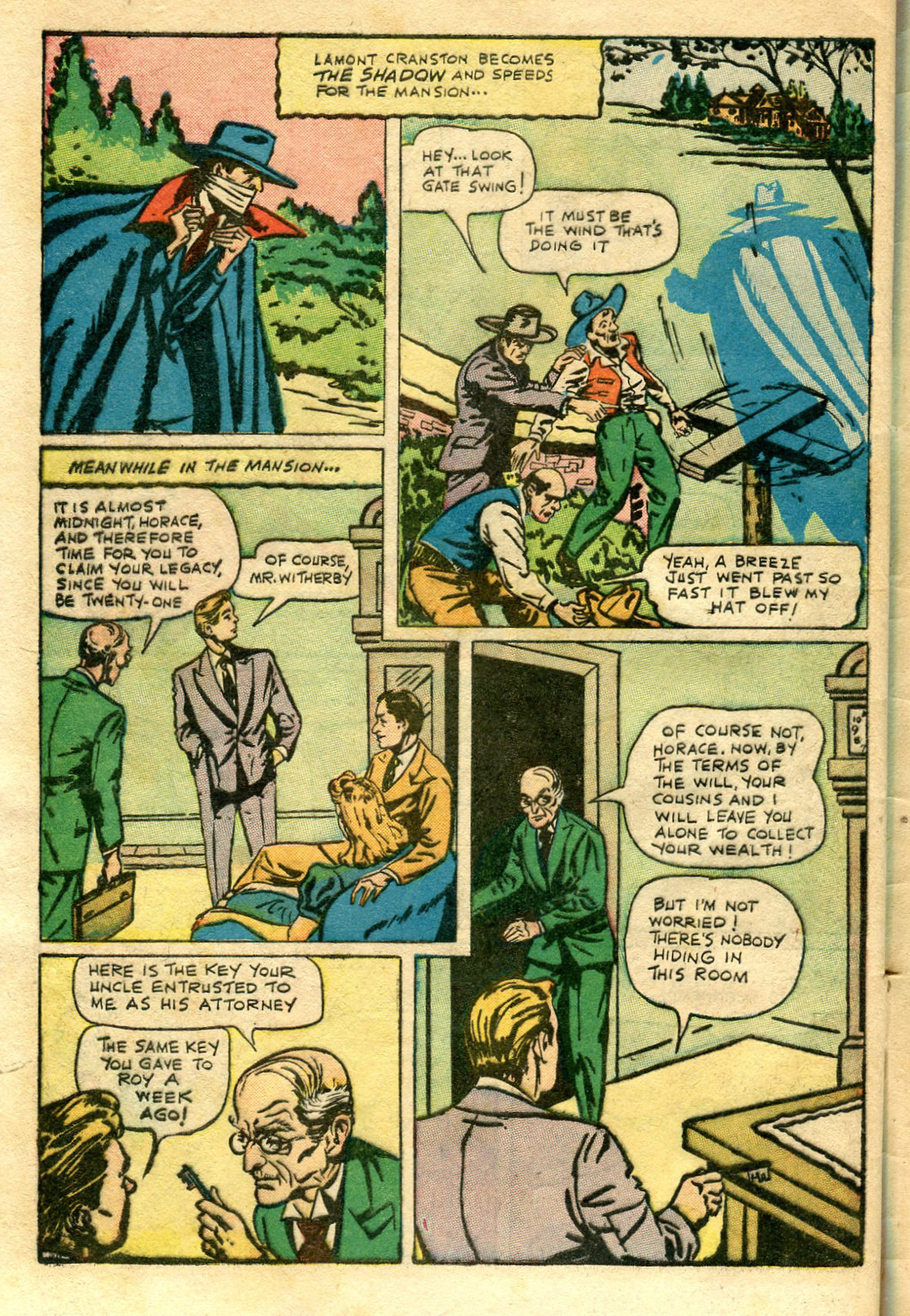 Read online Shadow Comics comic -  Issue #65 - 44