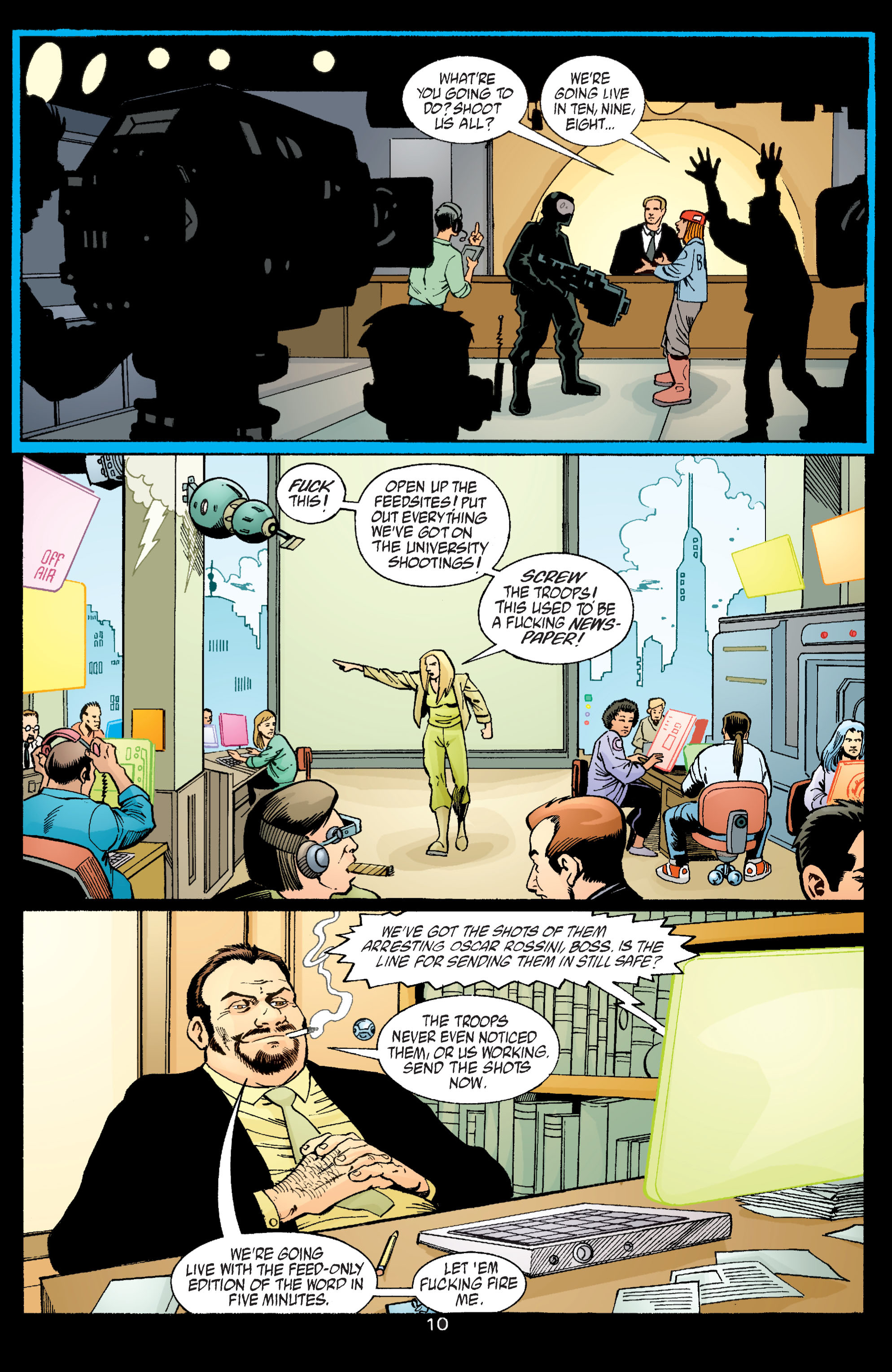 Read online Transmetropolitan comic -  Issue #58 - 11