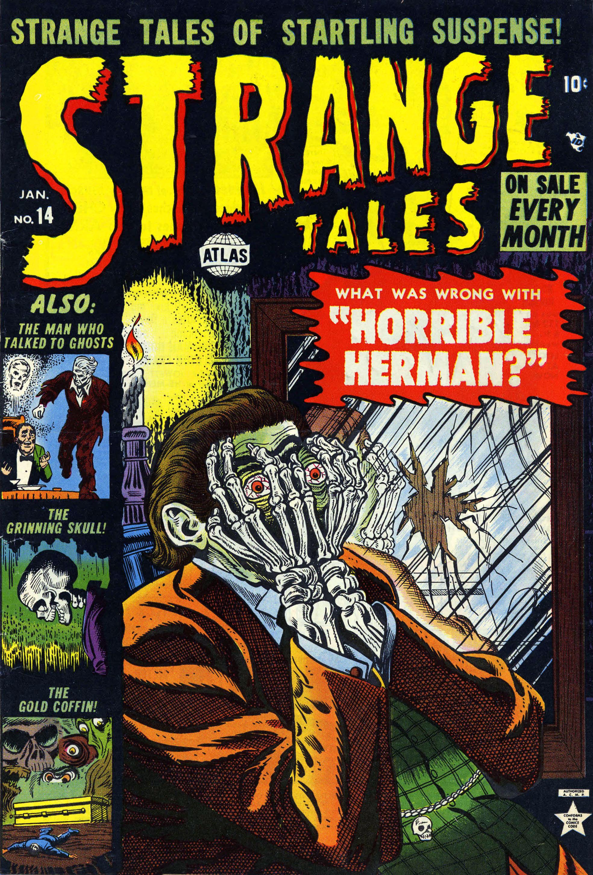 Strange Tales (1951) 14 Page 1