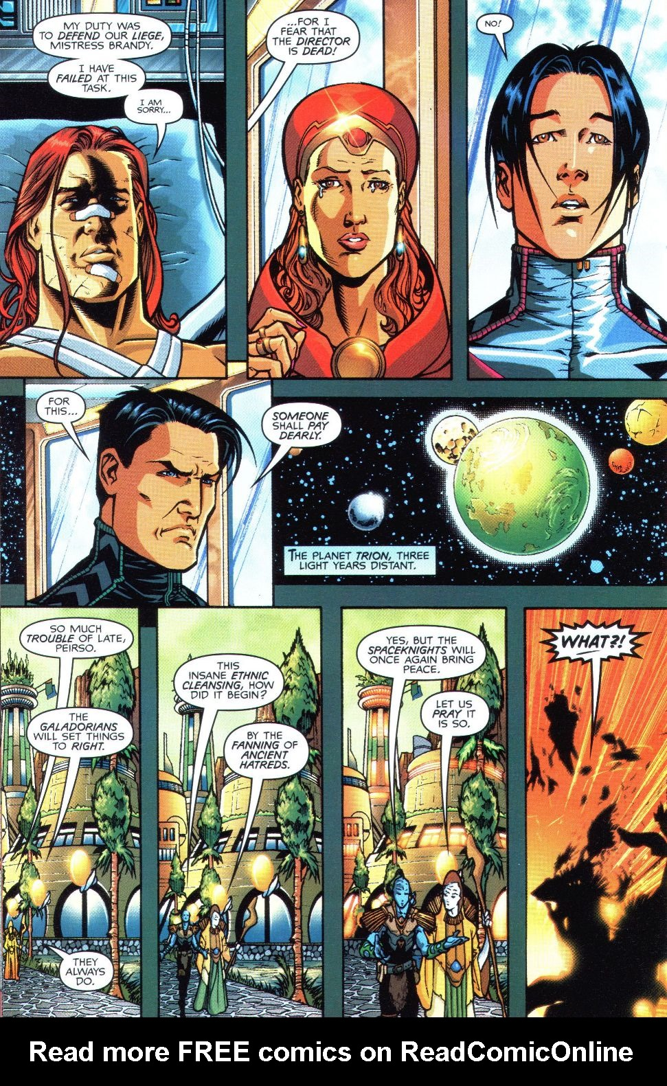 Read online Spaceknights (2000) comic -  Issue #1 - 12