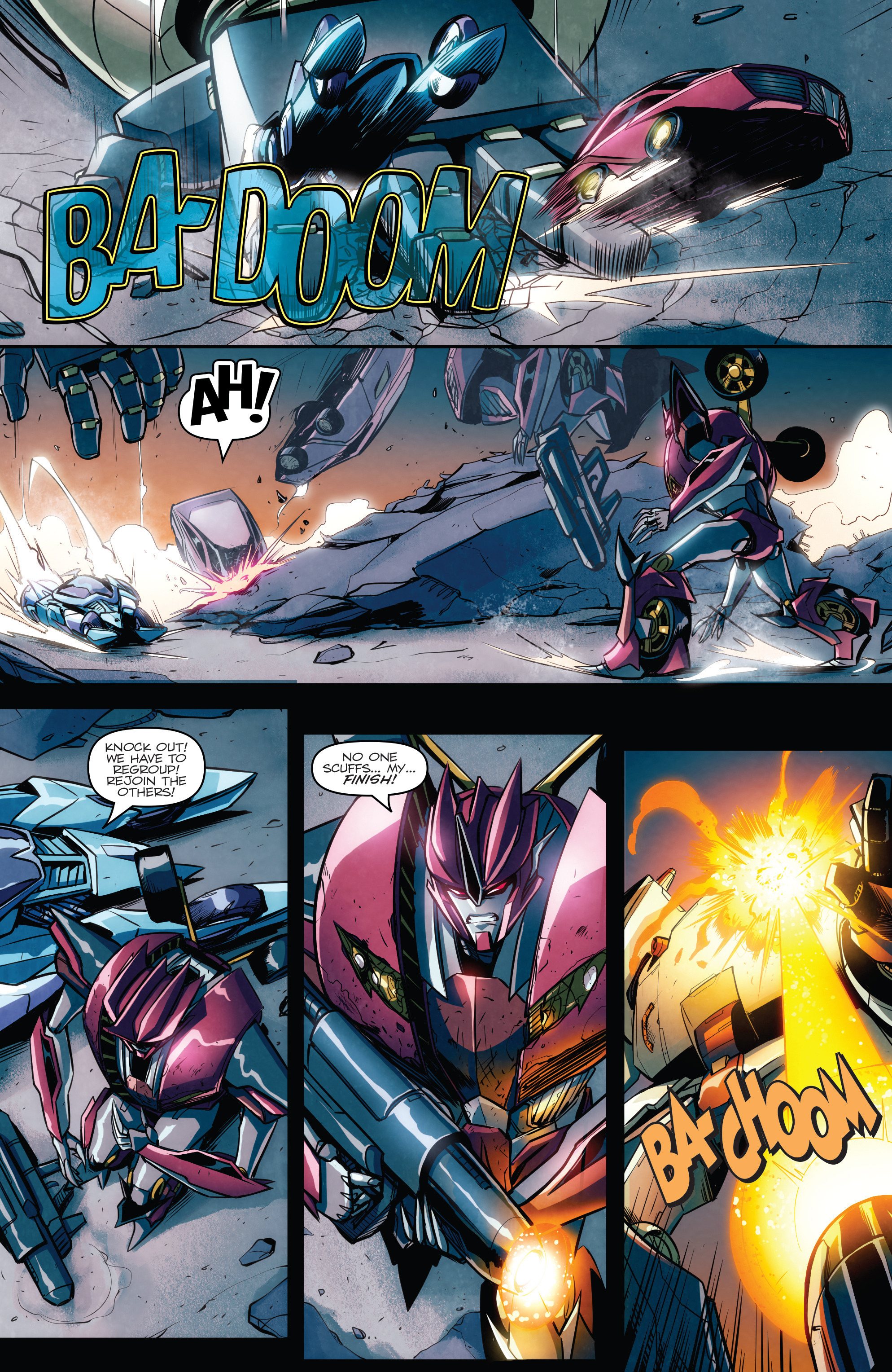 Read online Transformers: Till All Are One comic -  Issue #6 - 7