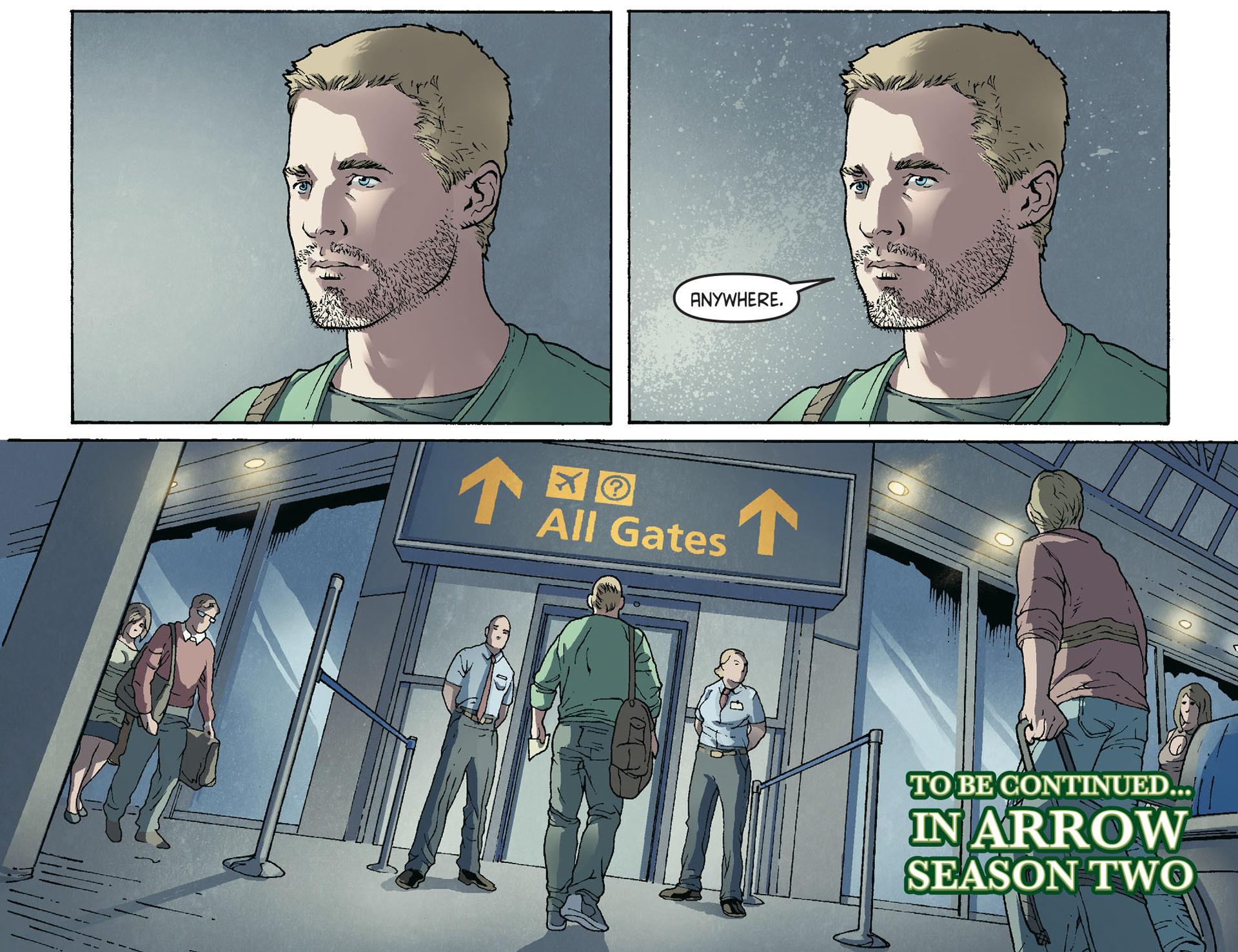 Read online Arrow [II] comic -  Issue #36 - 22