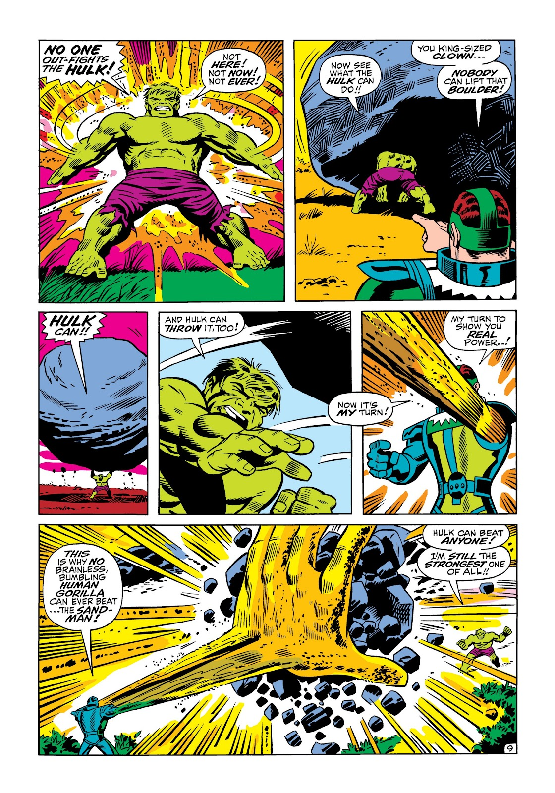 Read online Marvel Masterworks: The Incredible Hulk comic -  Issue # TPB 5 (Part 1) - 57
