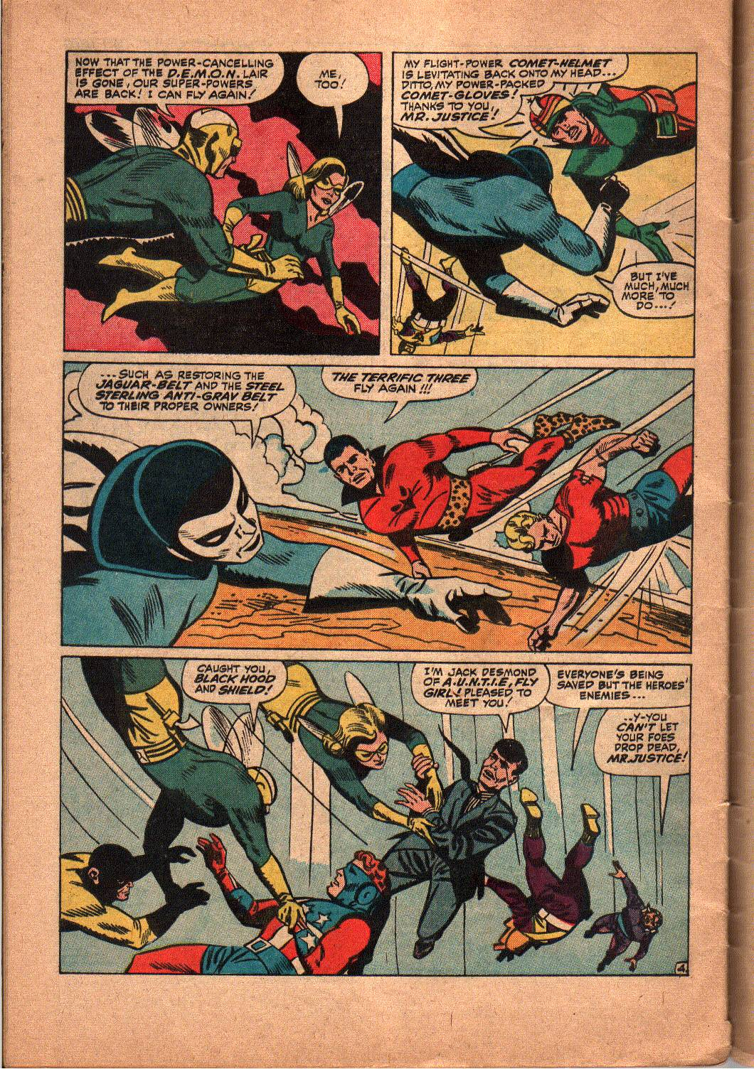 The Mighty Crusaders (1965) Issue #5 #5 - English 24