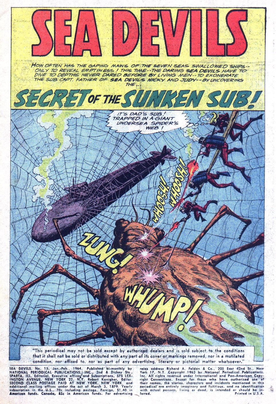 Read online Sea Devils comic -  Issue #15 - 3