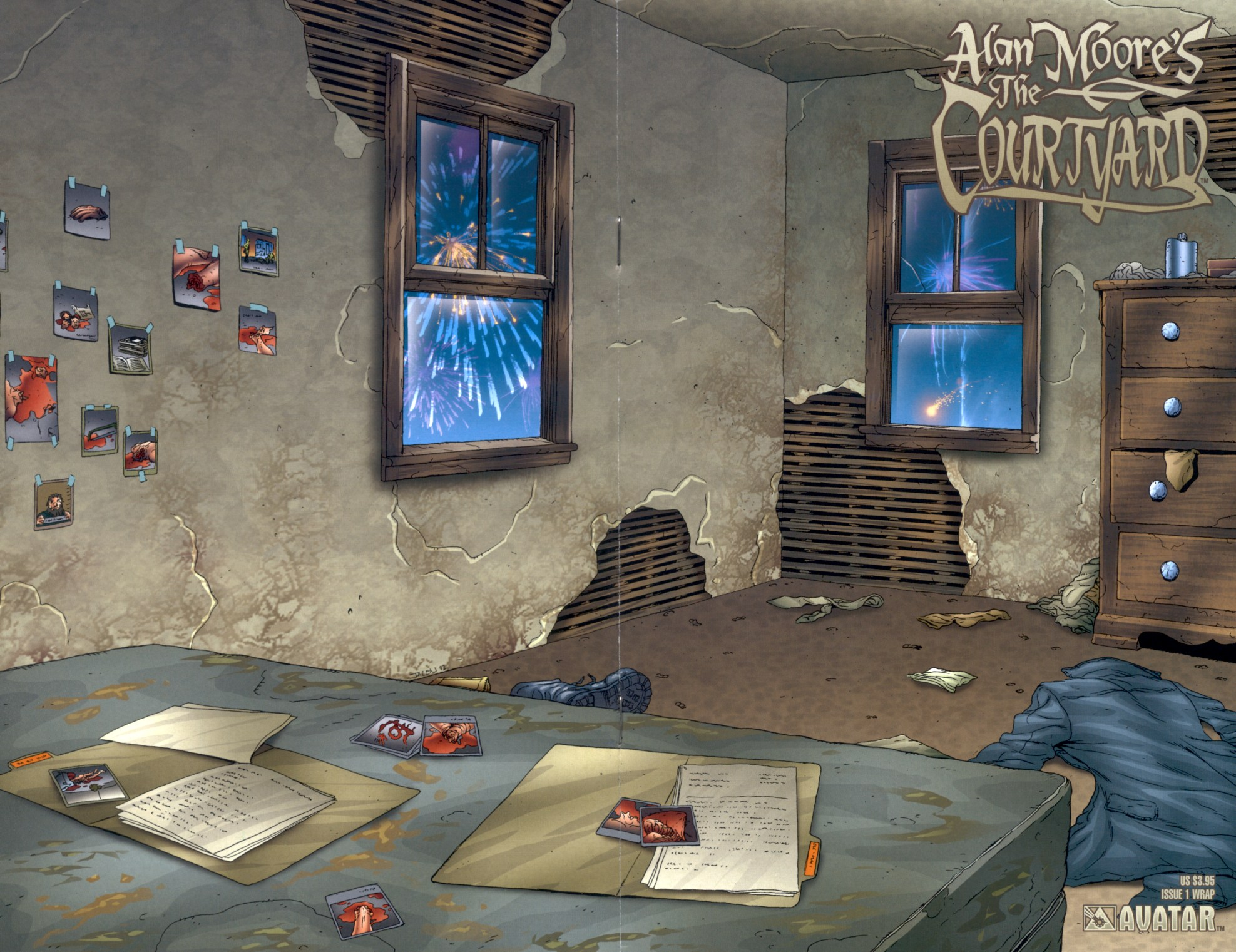 Read online Alan Moore's The Courtyard comic -  Issue #1 - 1