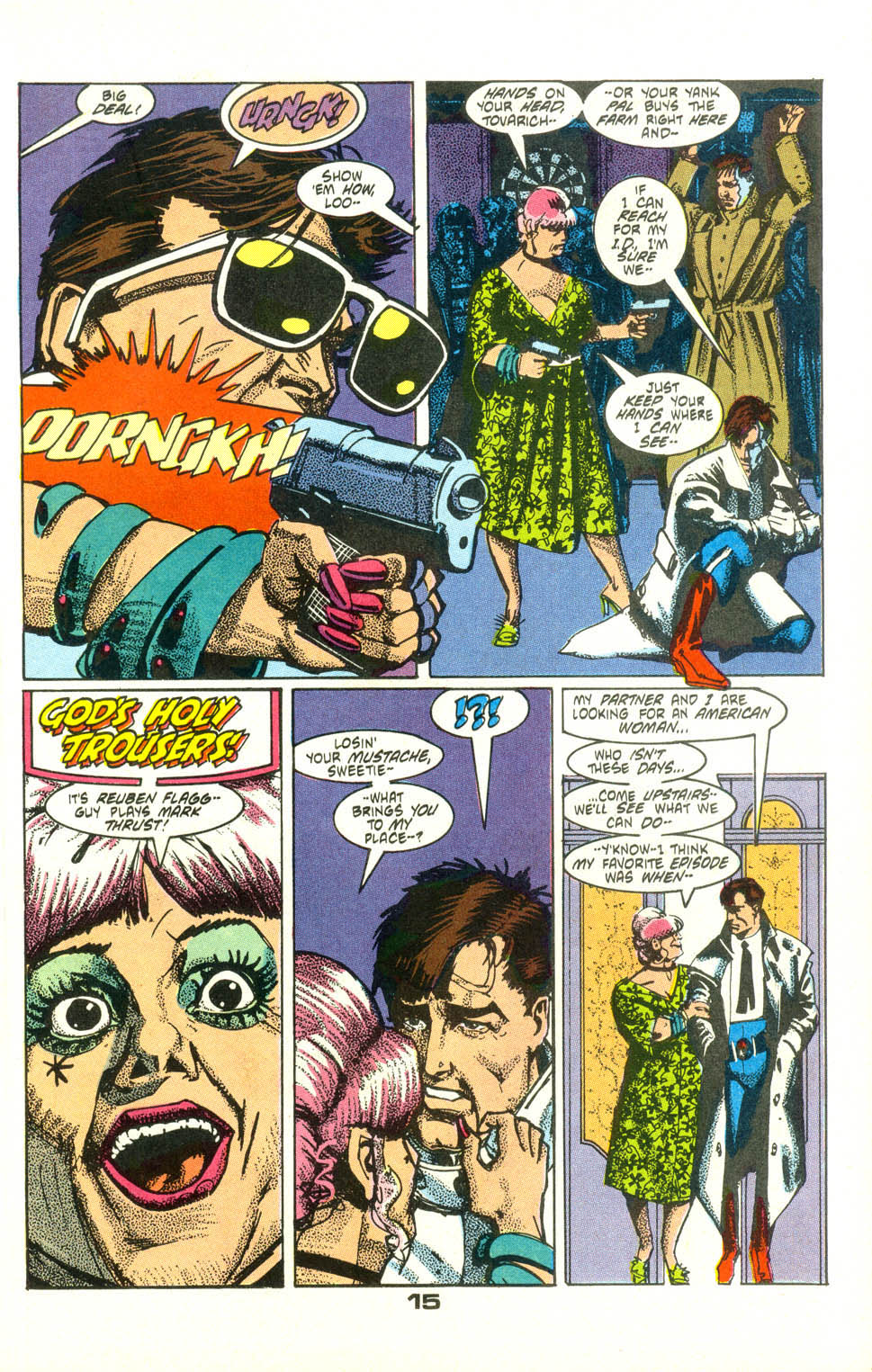 Read online American Flagg! comic -  Issue #25 - 17