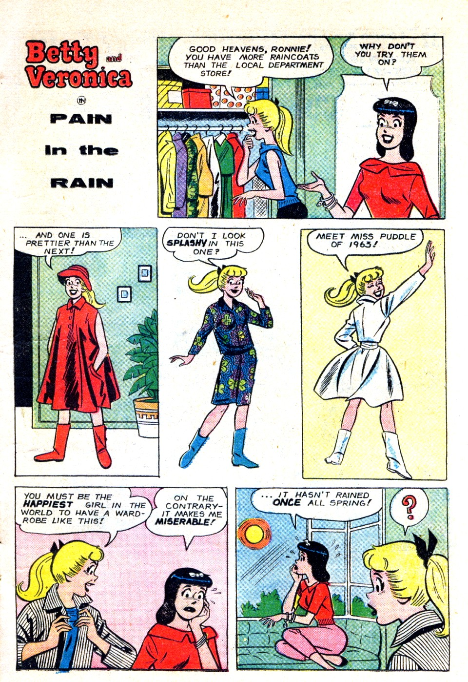 Read online Archie's Girls Betty and Veronica comic -  Issue #93 - 11