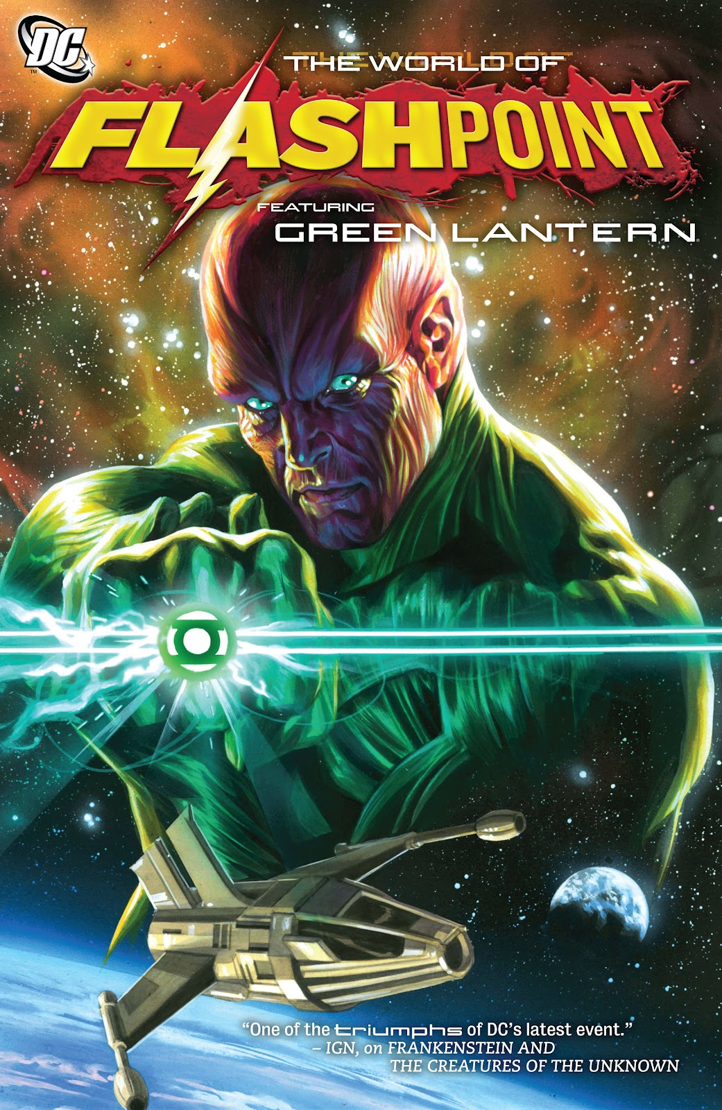 Flashpoint: The World of Flashpoint Featuring Green Lantern Full Page 1
