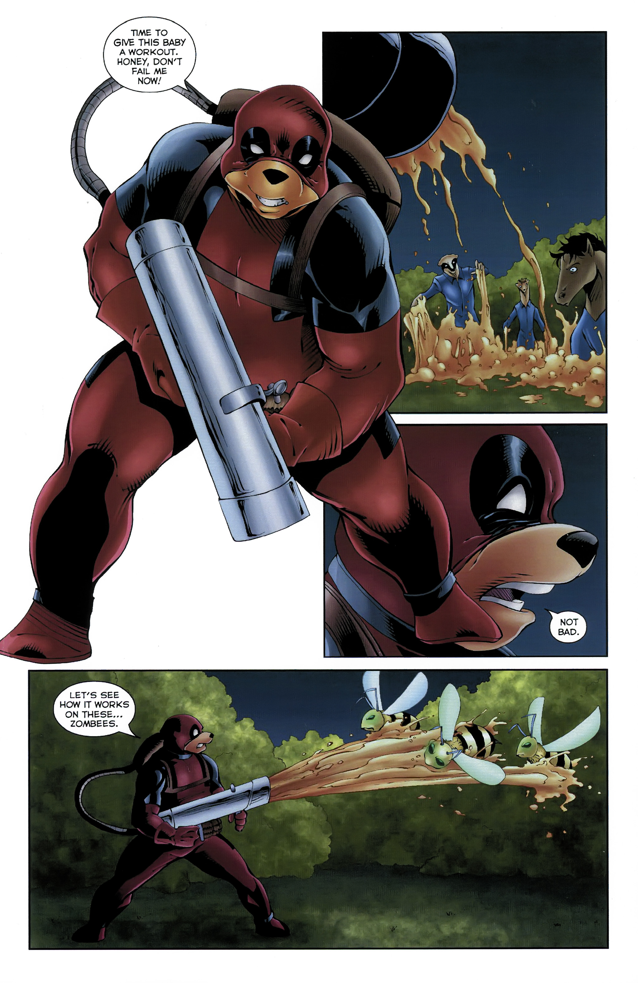 Read online Dead Pooh comic -  Issue #3 - 19