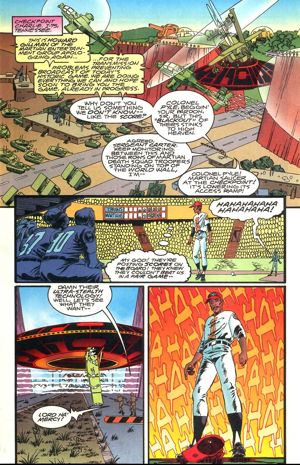 Read online Mars Attacks Baseball Special comic -  Issue # Full - 8