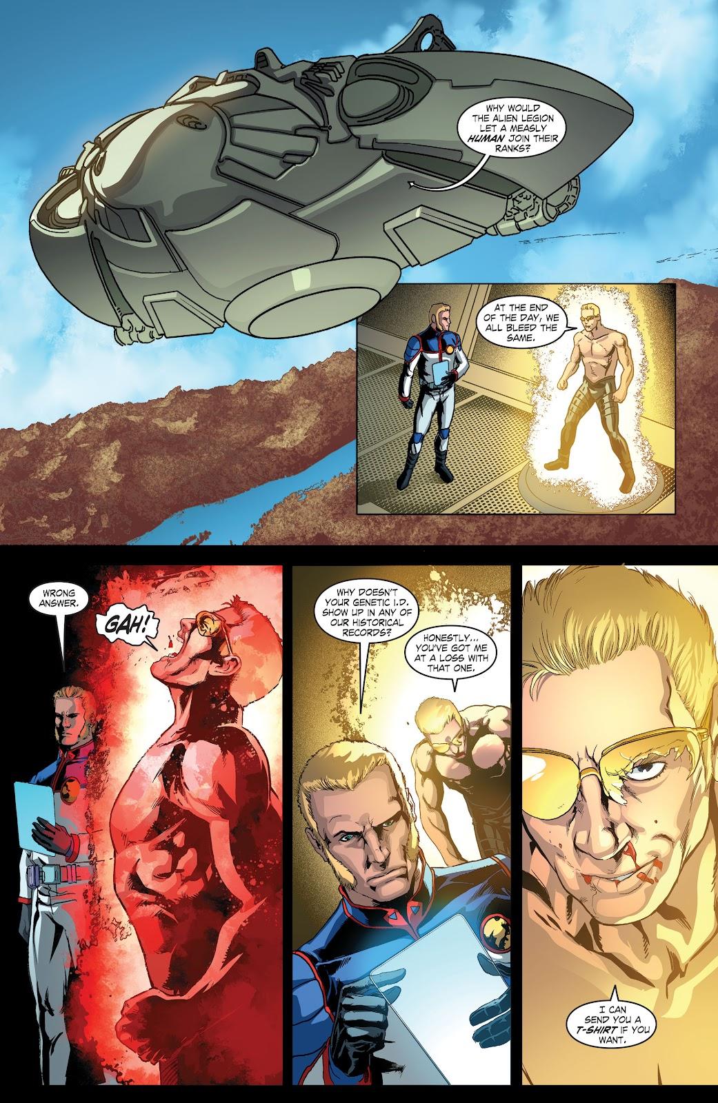 Read online Smallville Season 11 [II] comic -  Issue # TPB 4 - 71