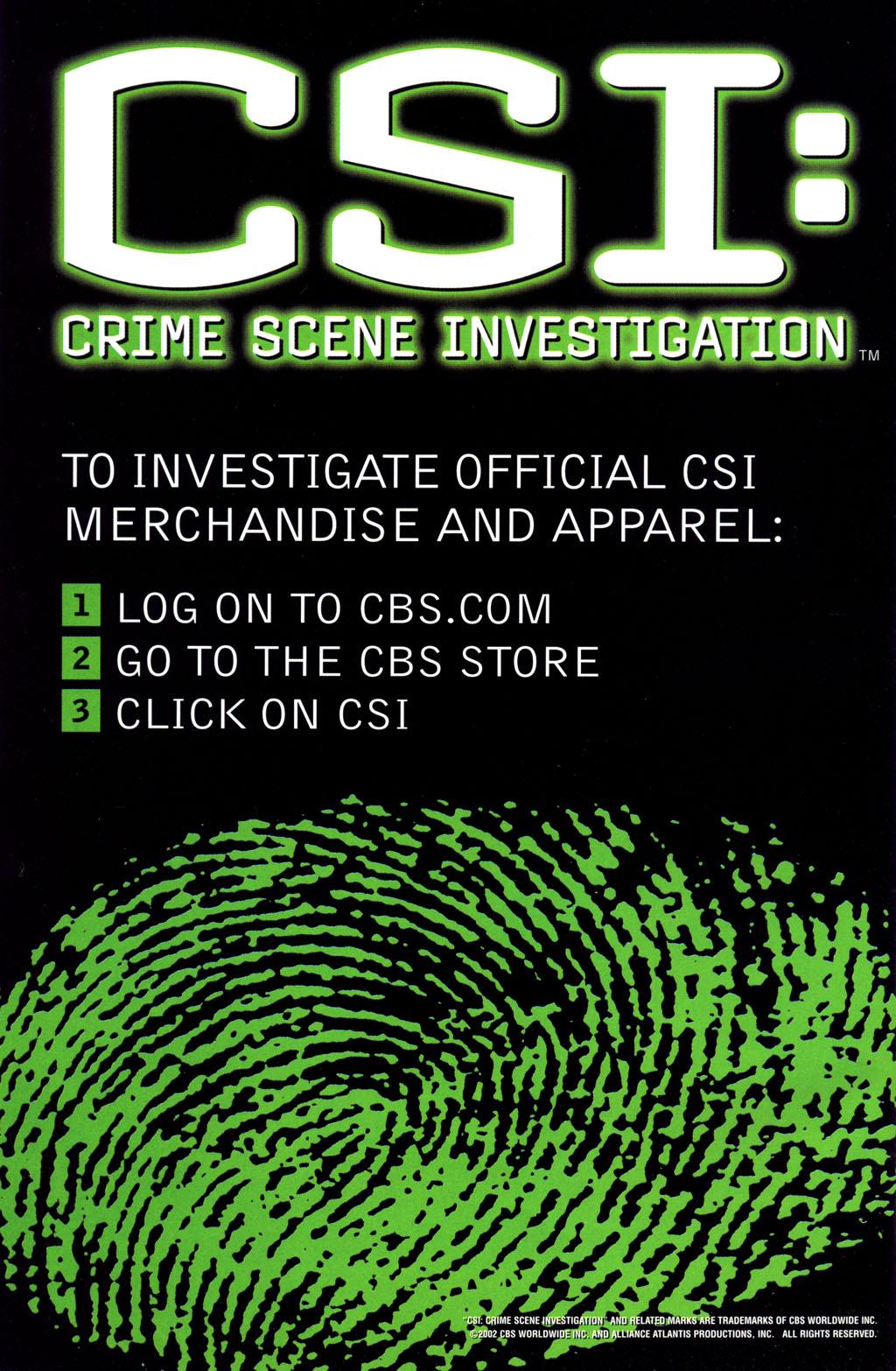 Read online CSI: Crime Scene Investigation: Bad Rap comic -  Issue #5 - 35
