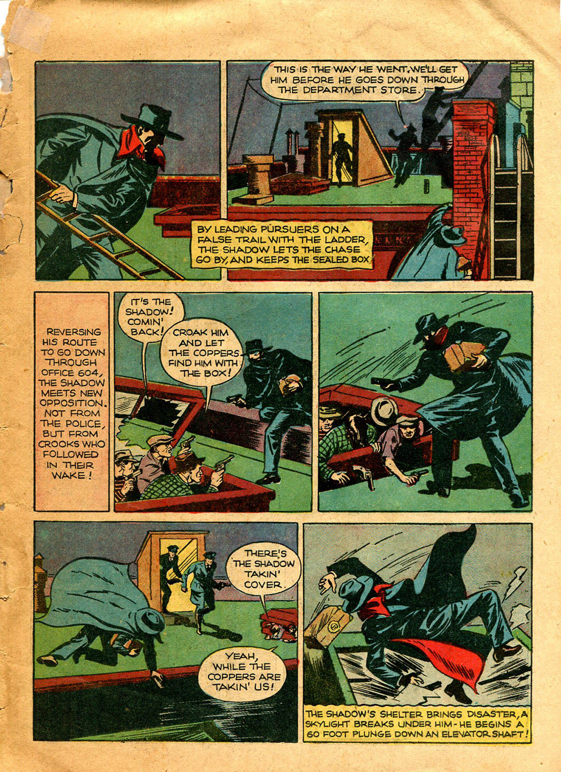 Shadow Comics issue 9 - Page 11