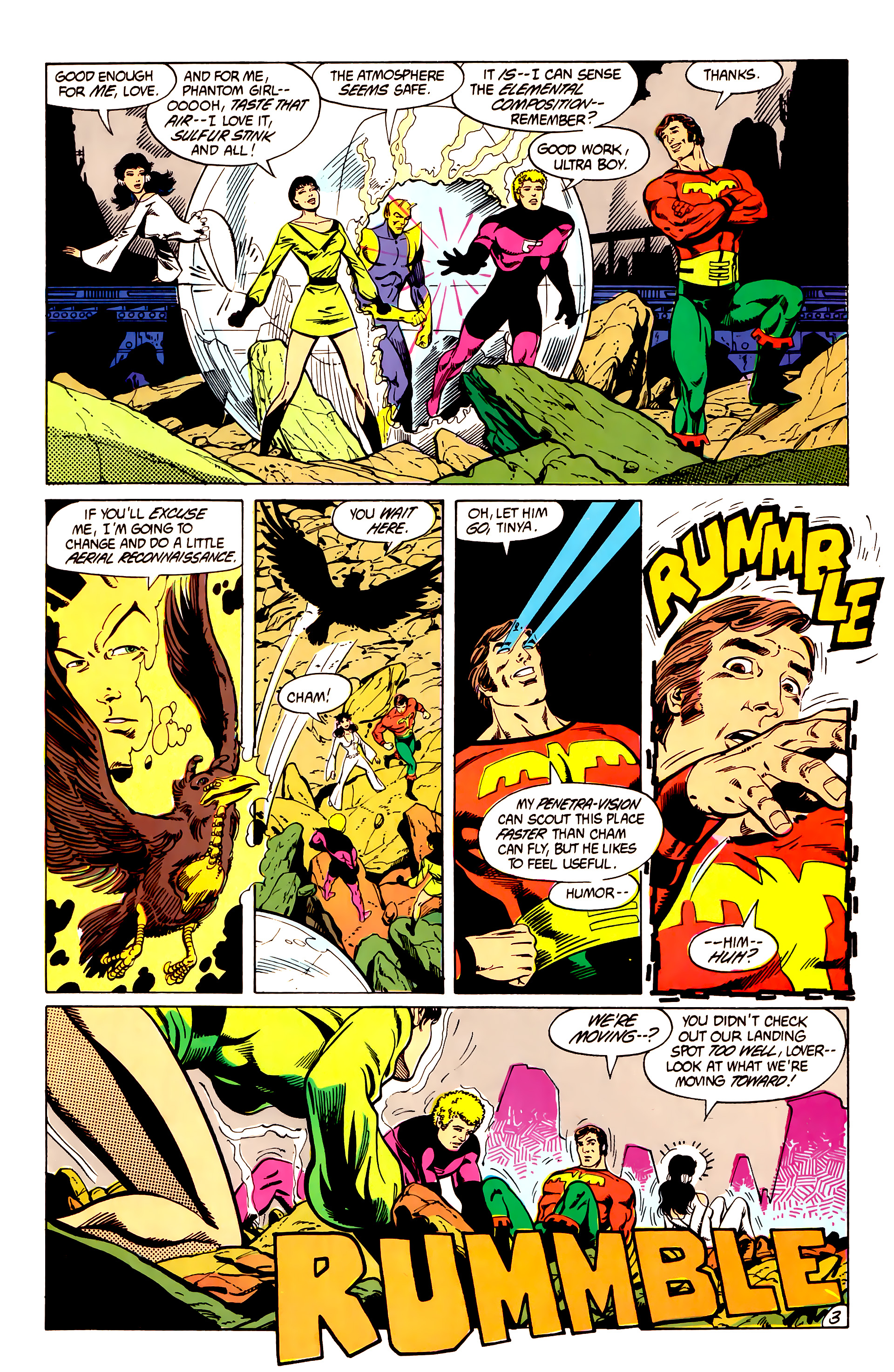 Legion of Super-Heroes (1984) 7 Page 4