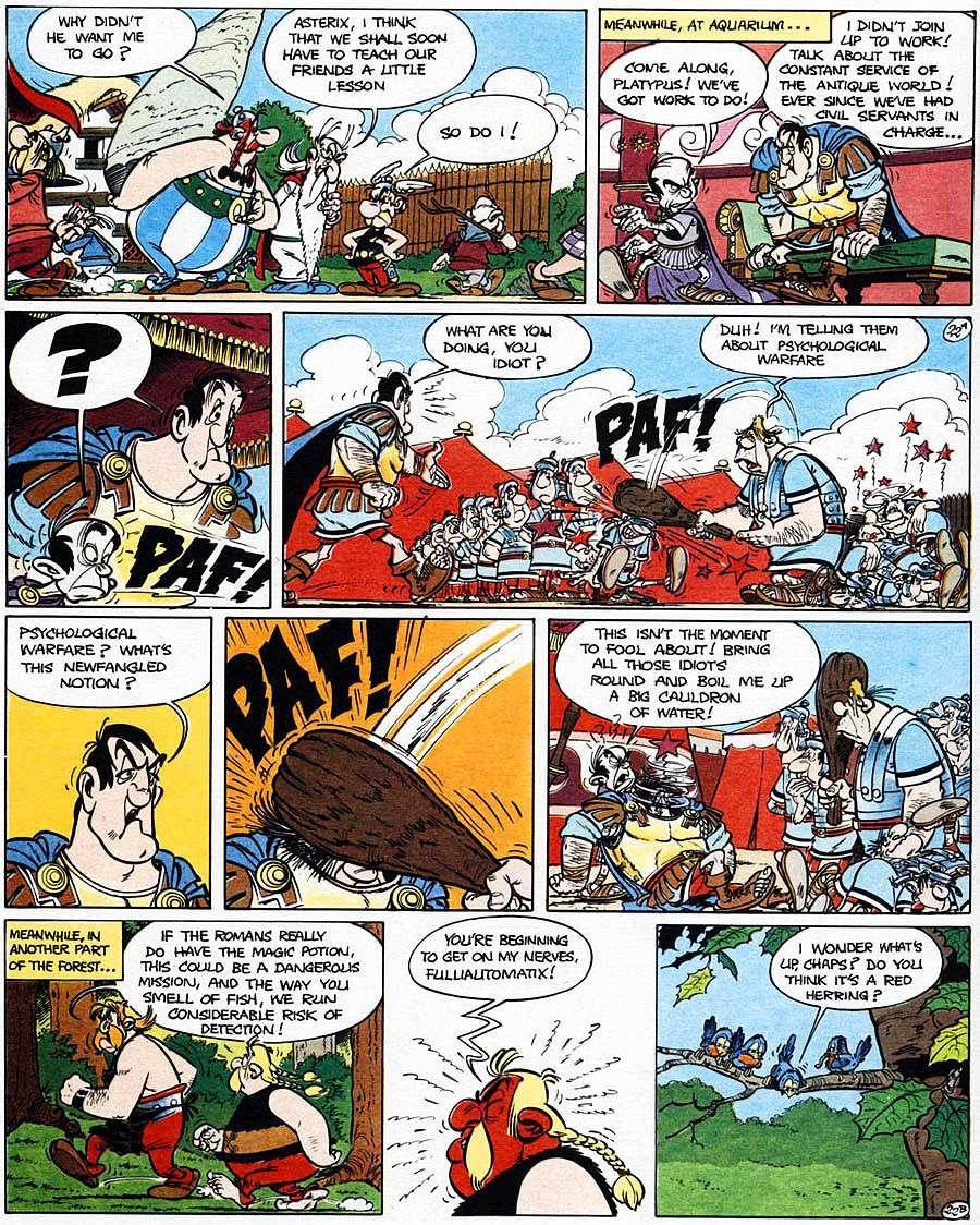Read online Asterix comic -  Issue #15 - 27
