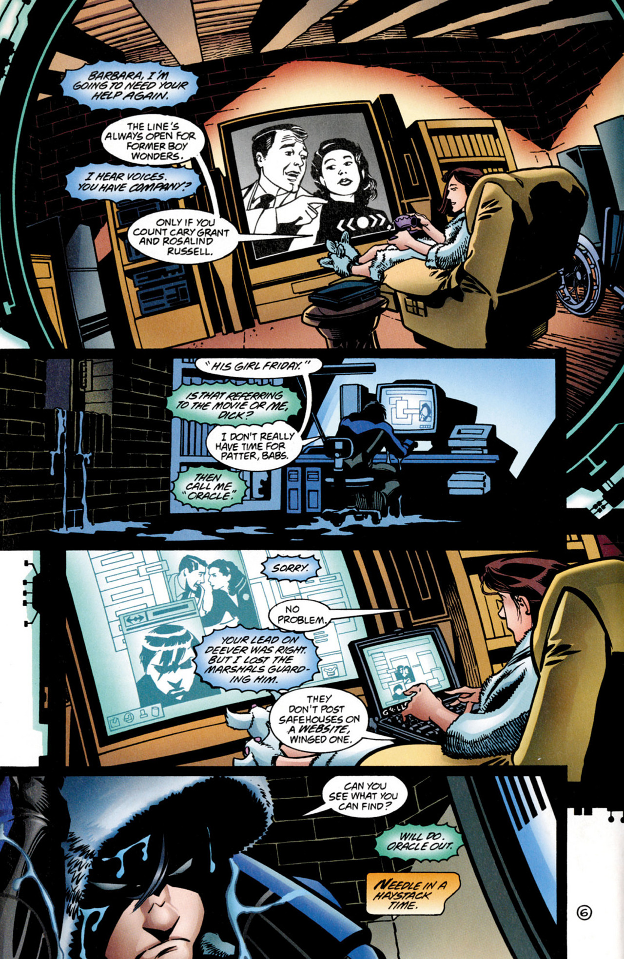Read online Nightwing (1996) comic -  Issue #0.5 - 8