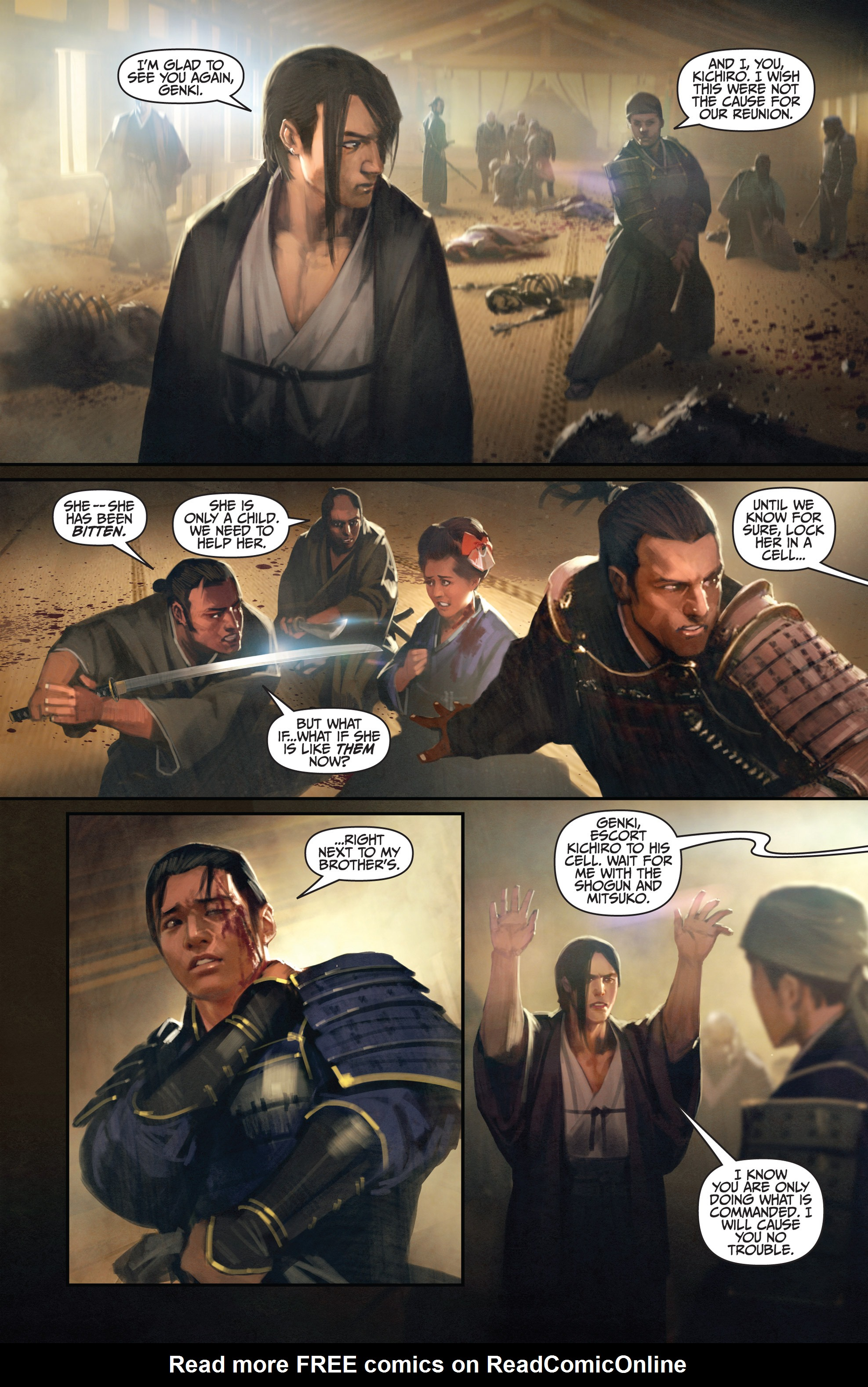 Read online Bushido: The Way of the Warrior comic -  Issue #3 - 9