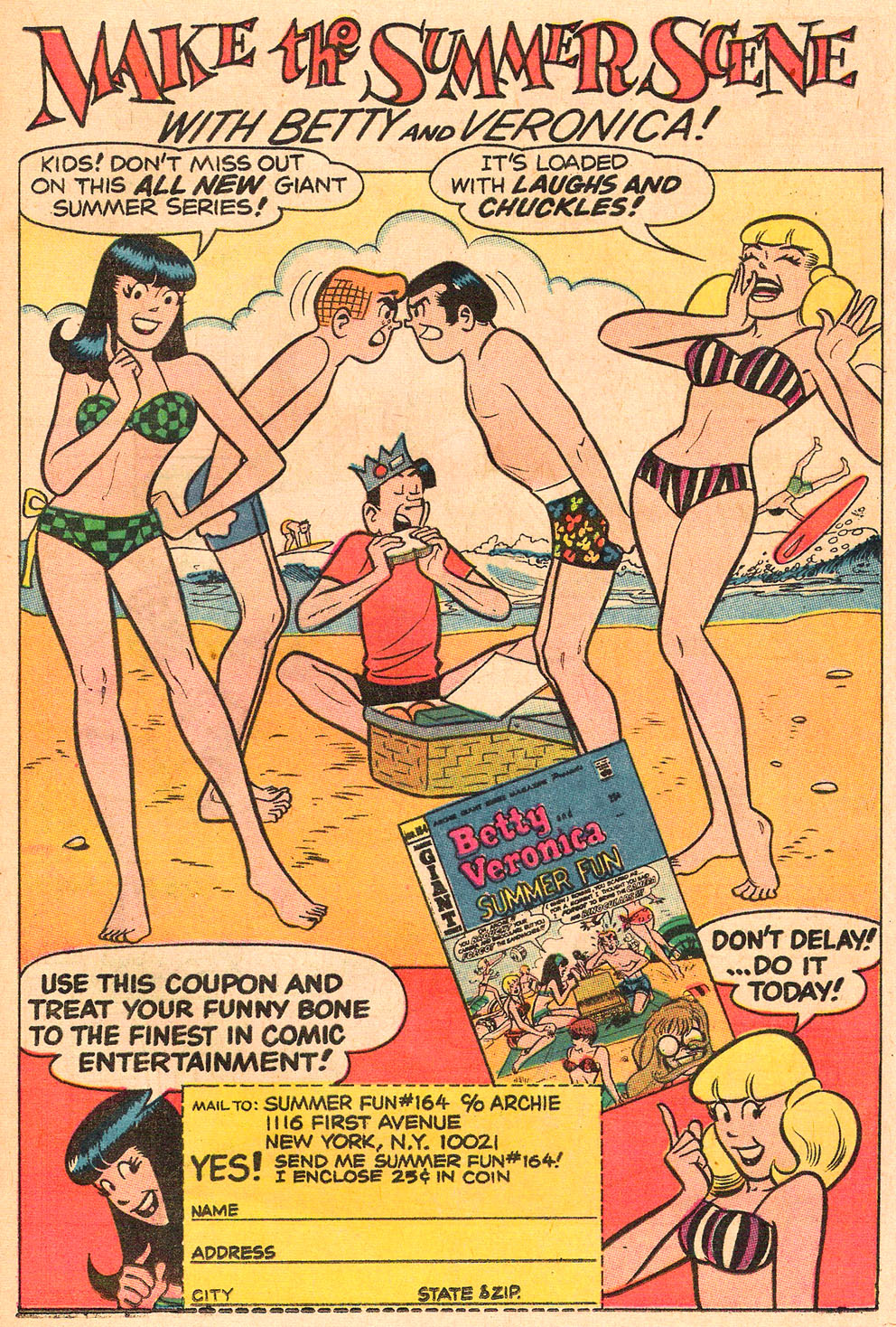 Read online Archie's Girls Betty and Veronica comic -  Issue #165 - 19