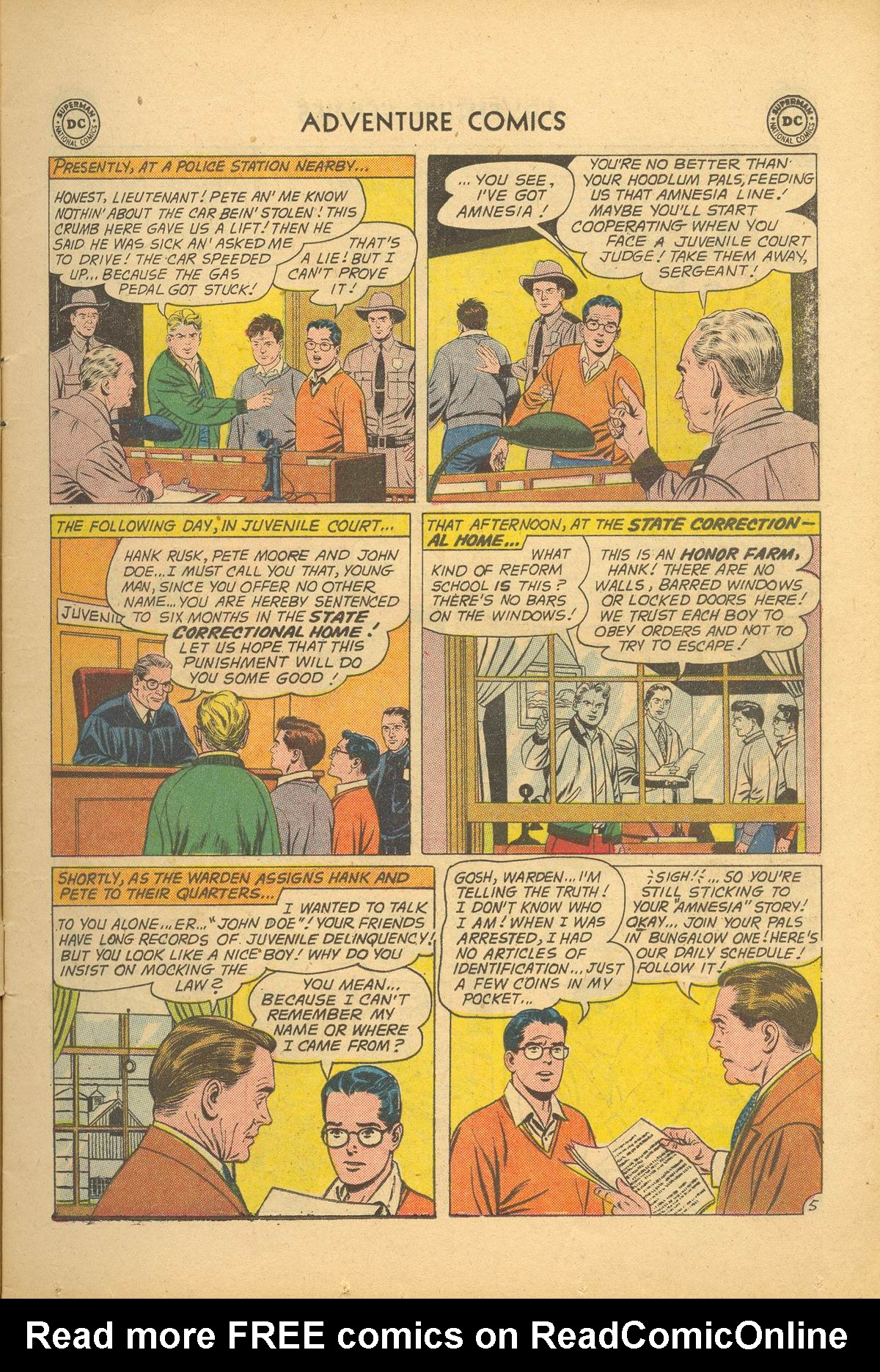 Read online Adventure Comics (1938) comic -  Issue #284 - 7