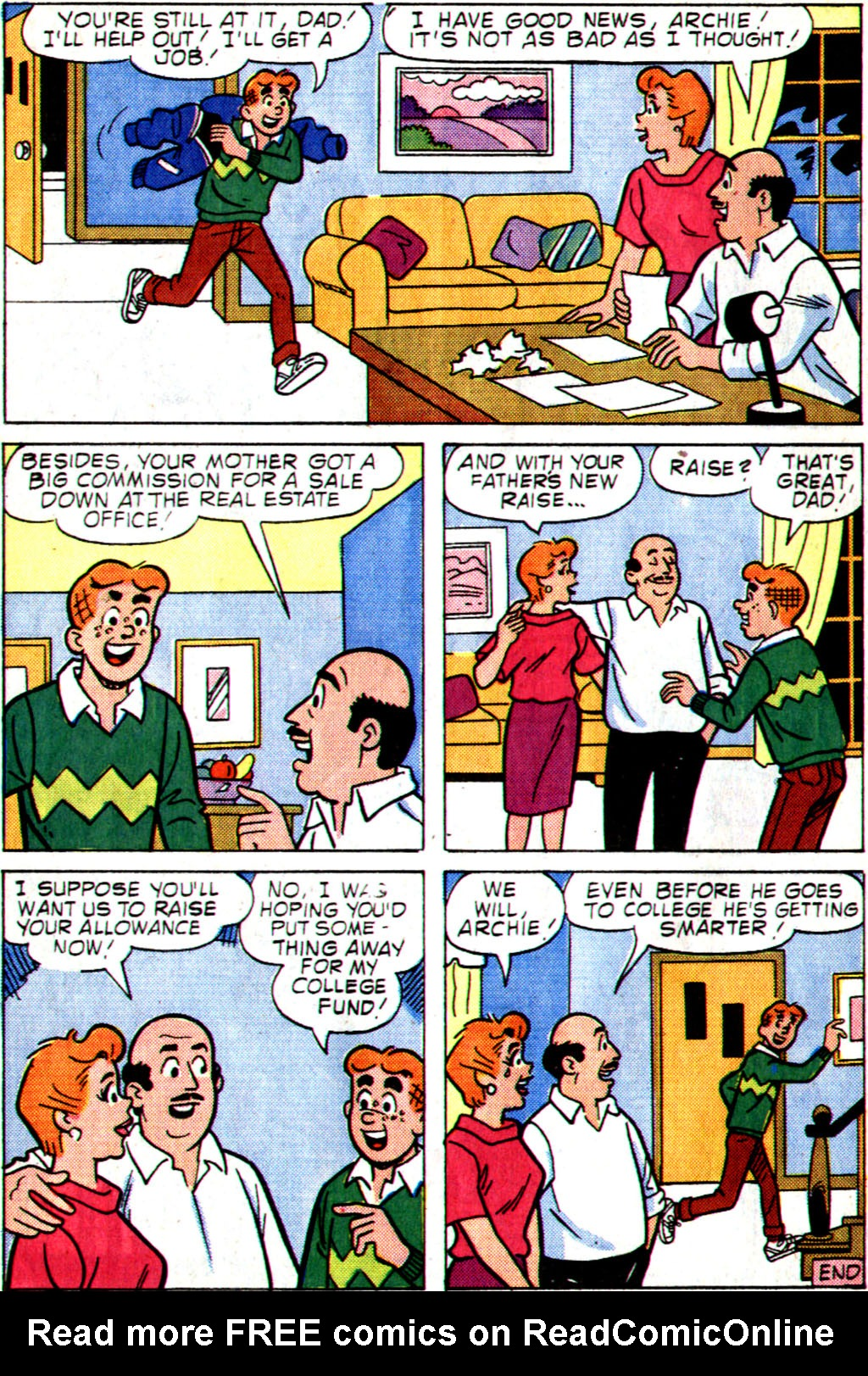 Read online Archie (1960) comic -  Issue #355 - 24