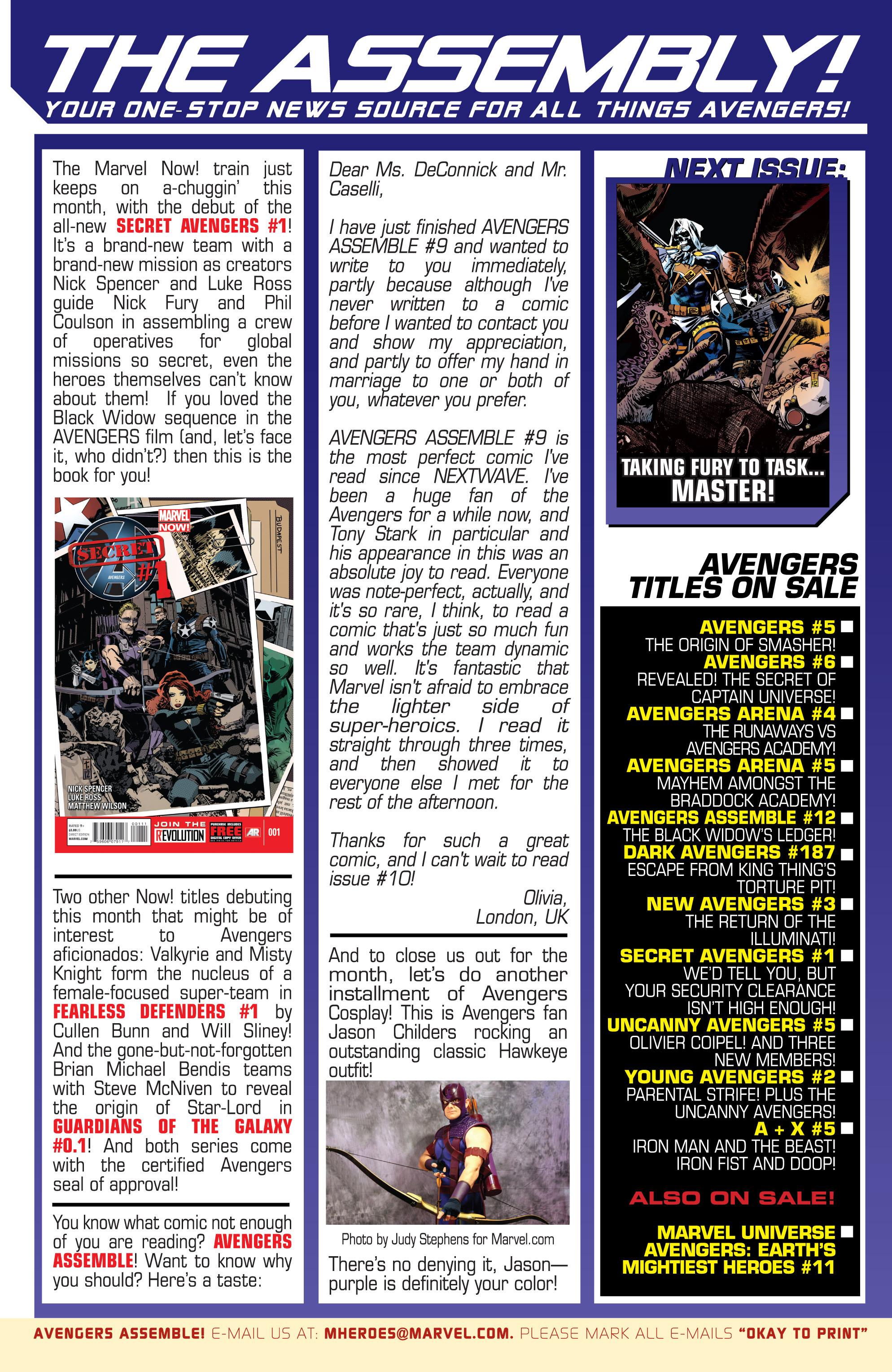 Read online Secret Avengers (2013) comic -  Issue #1 - 24