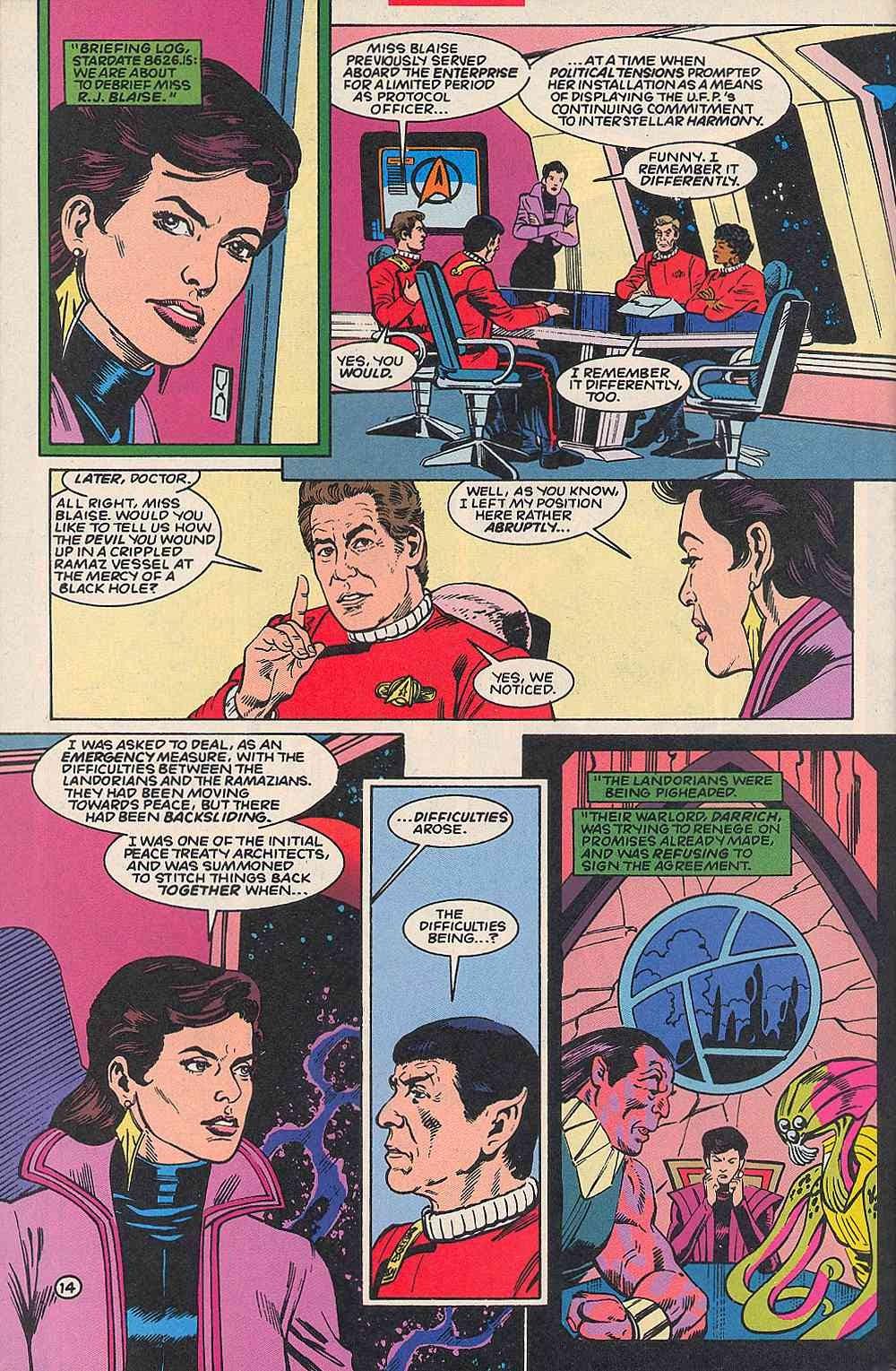 Read online Star Trek (1989) comic -  Issue # _Special 1 - 18