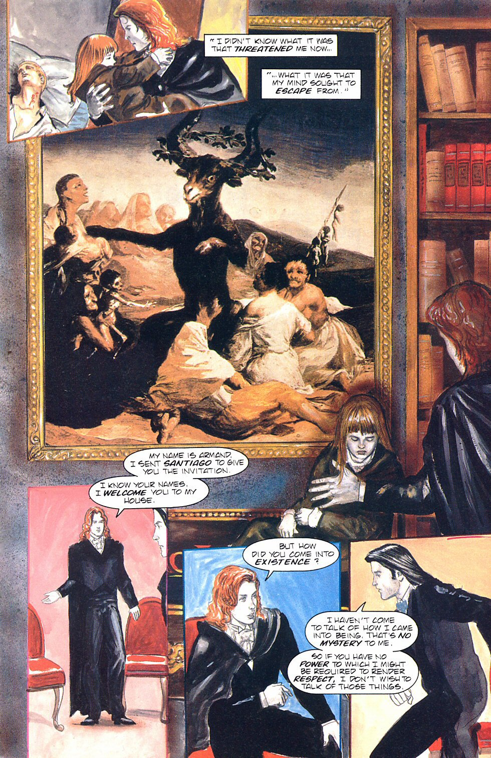 Read online Anne Rice's Interview with the Vampire comic -  Issue #8 - 24