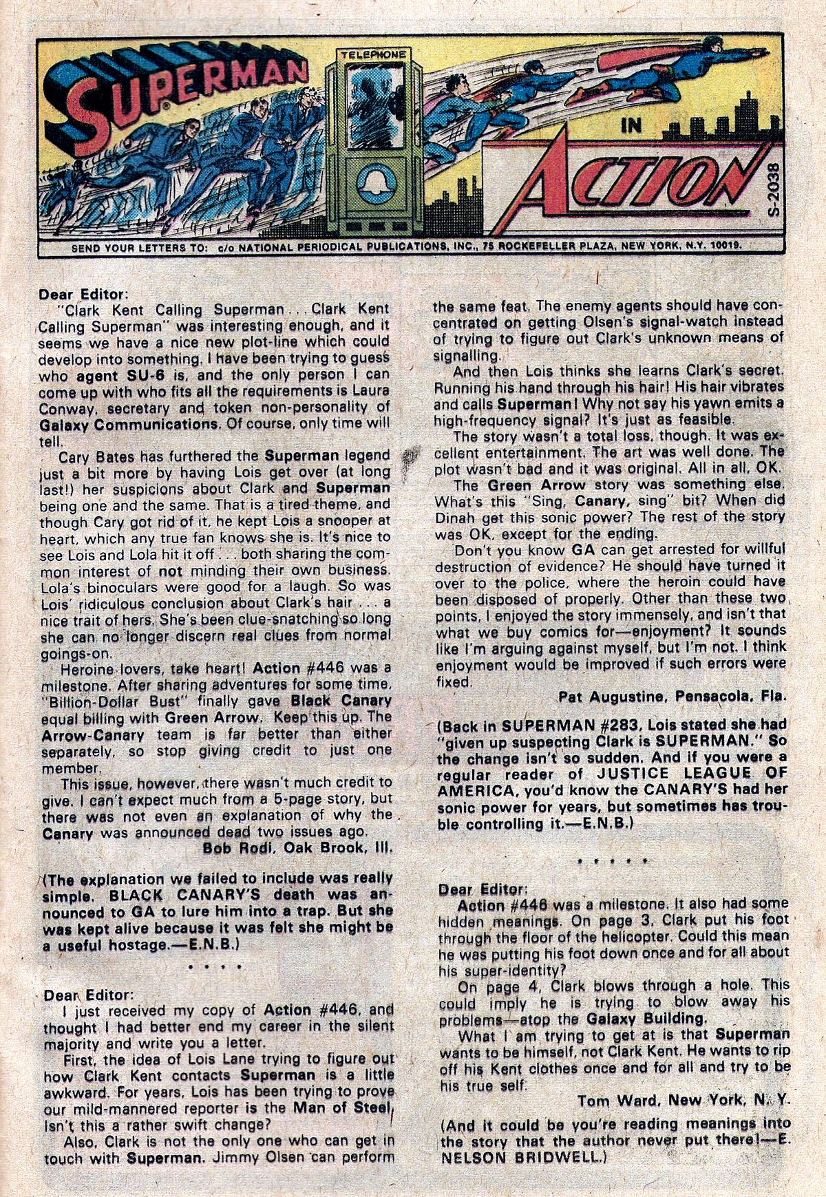 Action Comics (1938) 450 Page 32