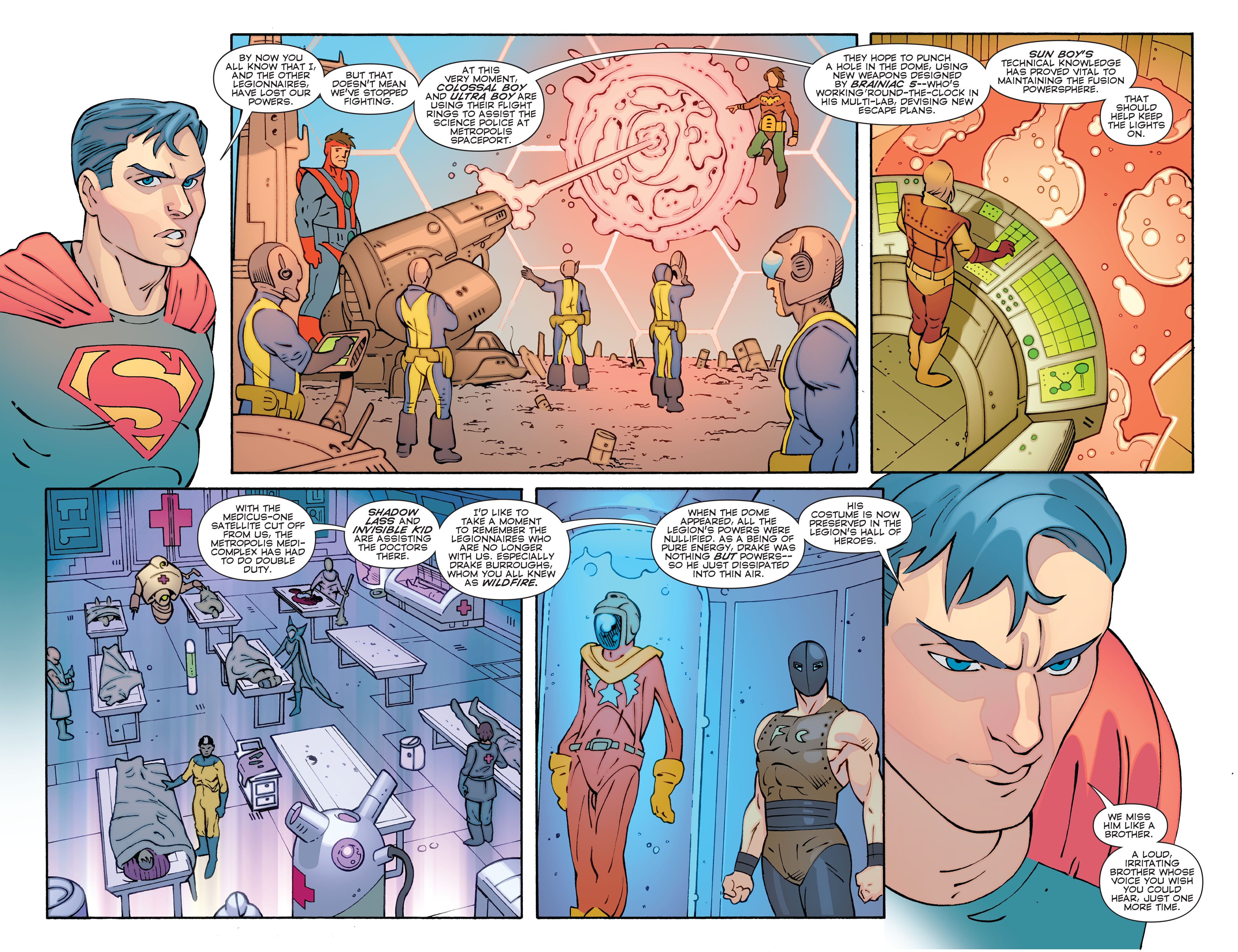 Read online Convergence Superboy and the Legion of Super-Heroes comic -  Issue #1 - 4