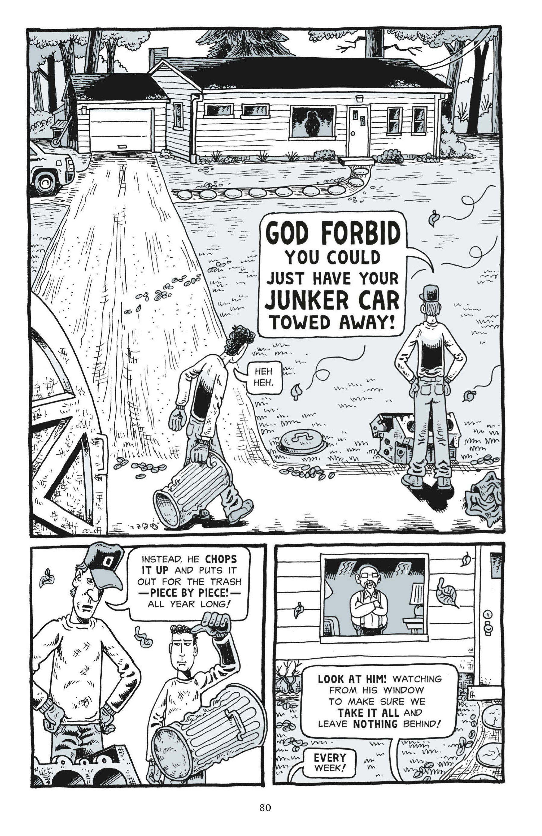 Read online Trashed comic -  Issue # Full - 79