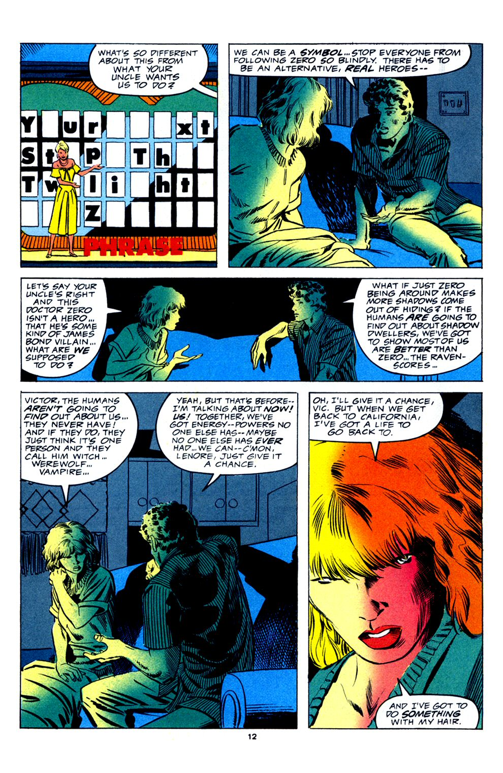 Read online Powerline comic -  Issue #2 - 14