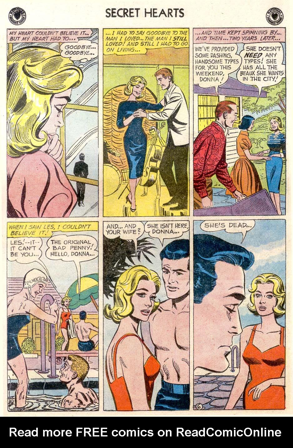 Read online Secret Hearts comic -  Issue #65 - 24
